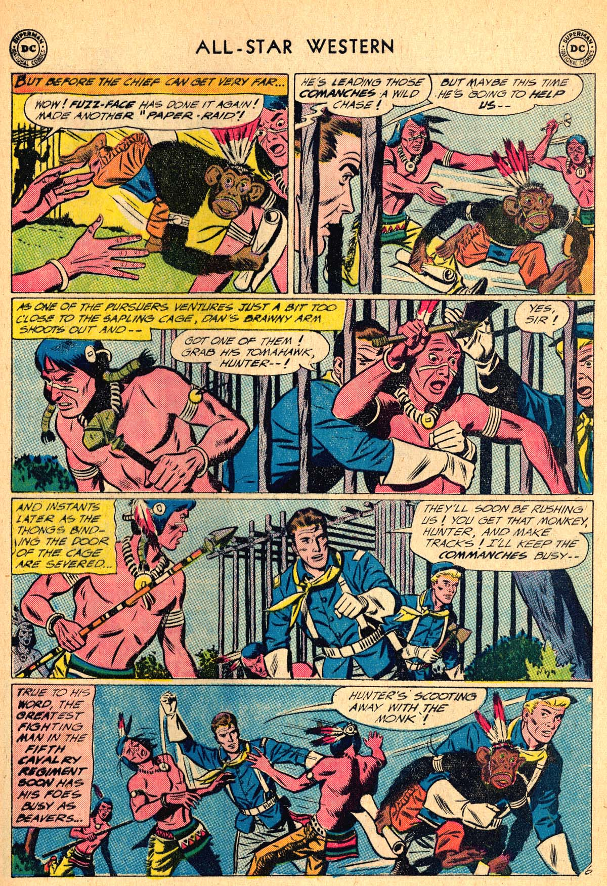 Read online All-Star Western (1951) comic -  Issue #115 - 21