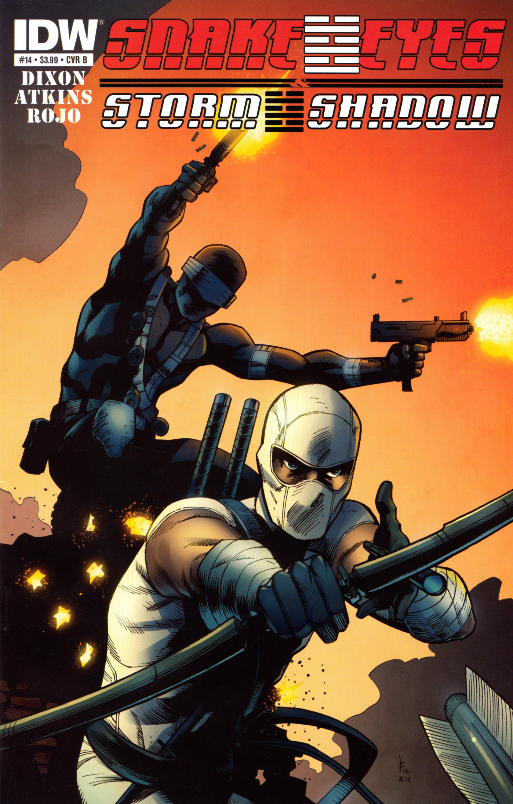 Read online Snake Eyes and Storm Shadow comic -  Issue #14 - 2