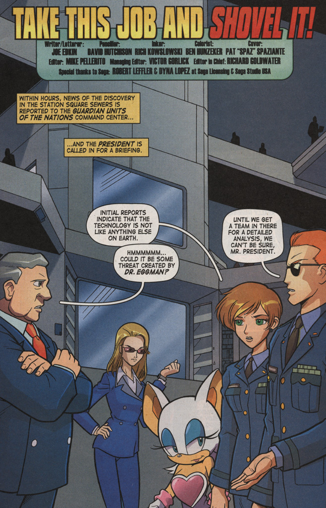 Read online Sonic X comic -  Issue #7 - 5