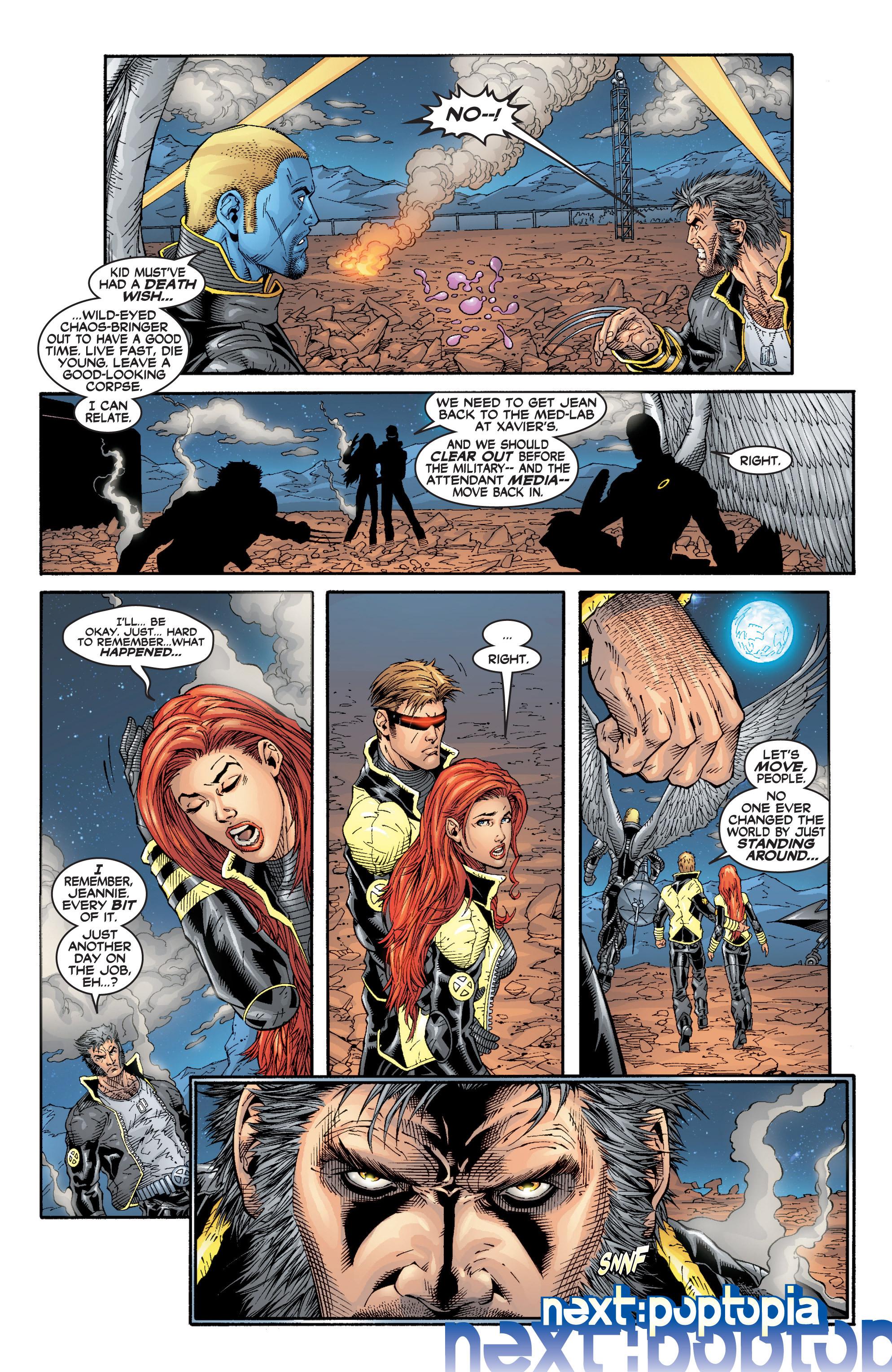 Read online Uncanny X-Men (1963) comic -  Issue #394 - 25