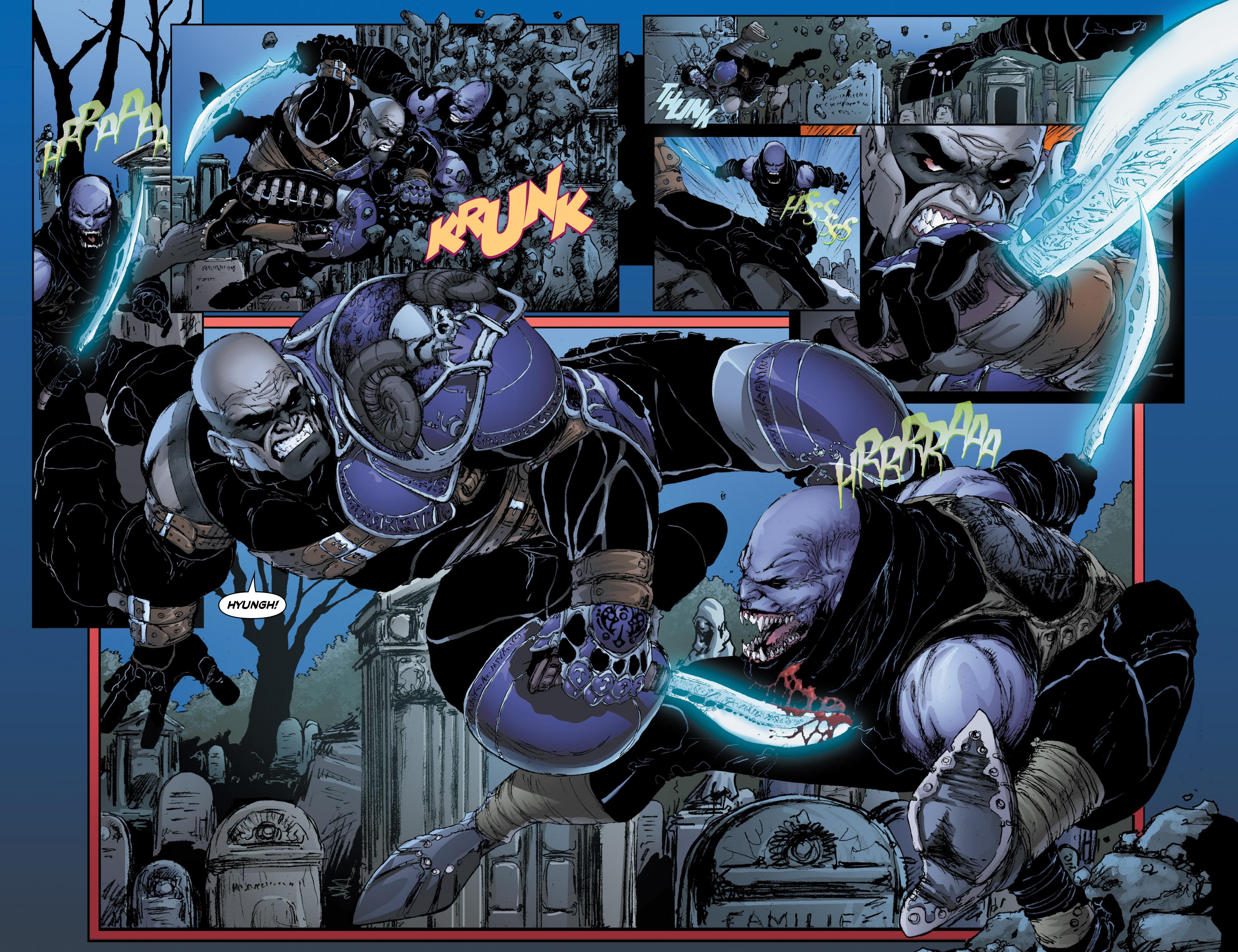 Read online Wraithborn Redux comic -  Issue #1 - 21