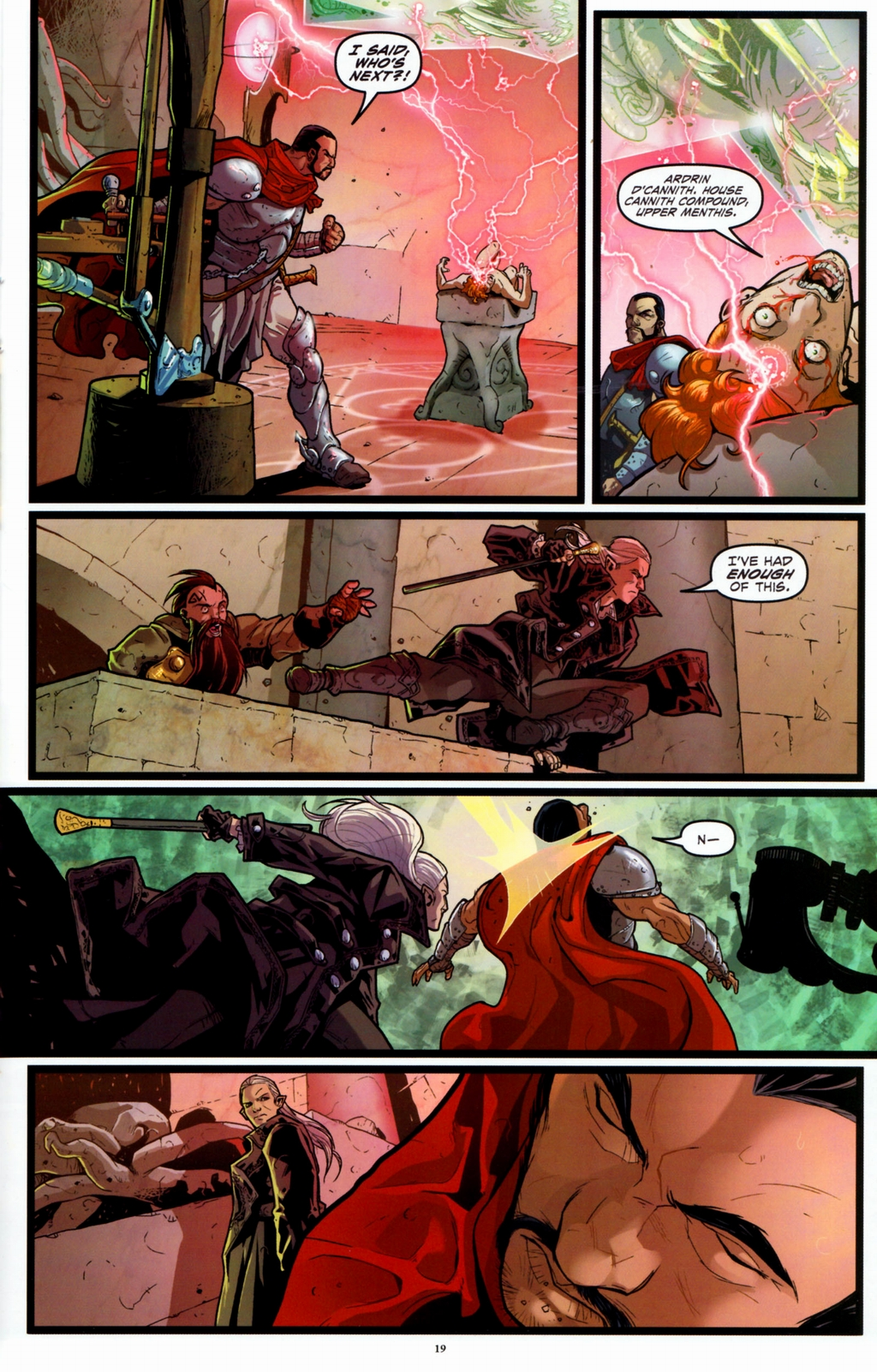 Read online Infestation 2: Dungeons & Dragons comic -  Issue #1 - 22