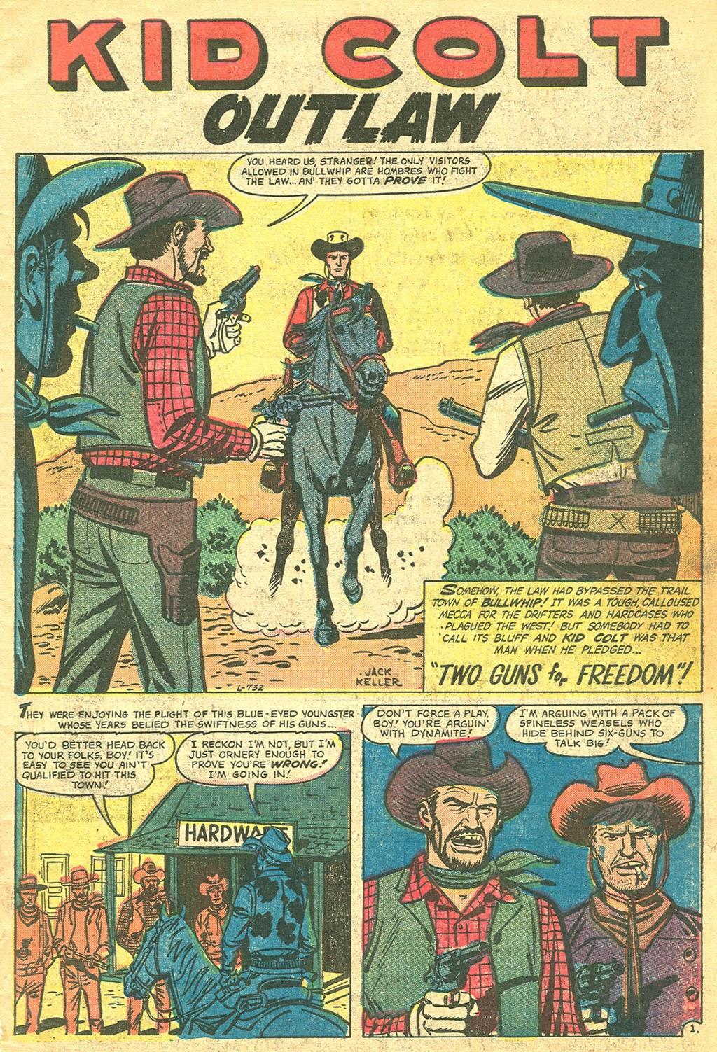 Gunsmoke Western issue 41 - Page 3