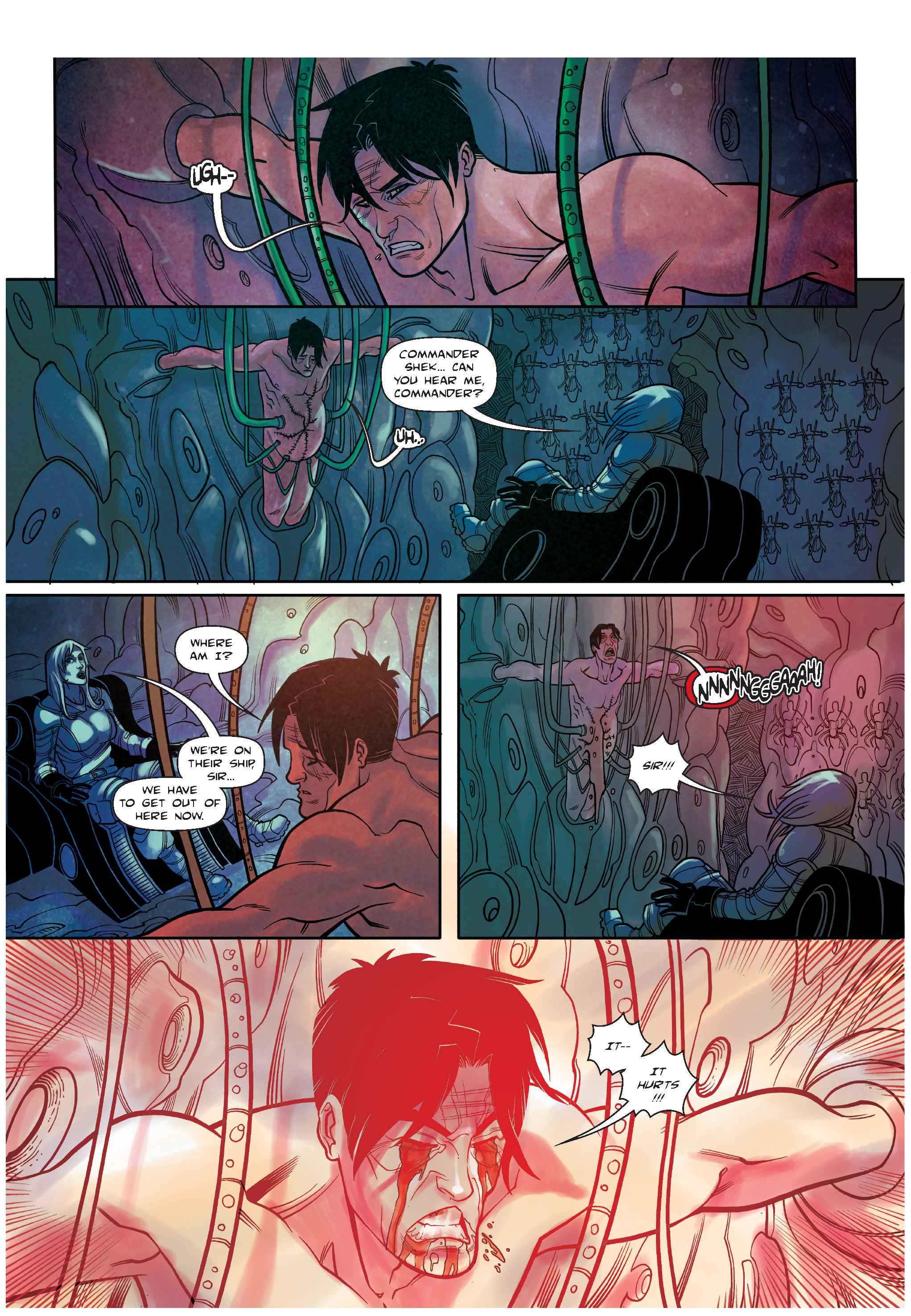 Read online The Shadow of a Terrible Thing comic -  Issue # TPB - 118