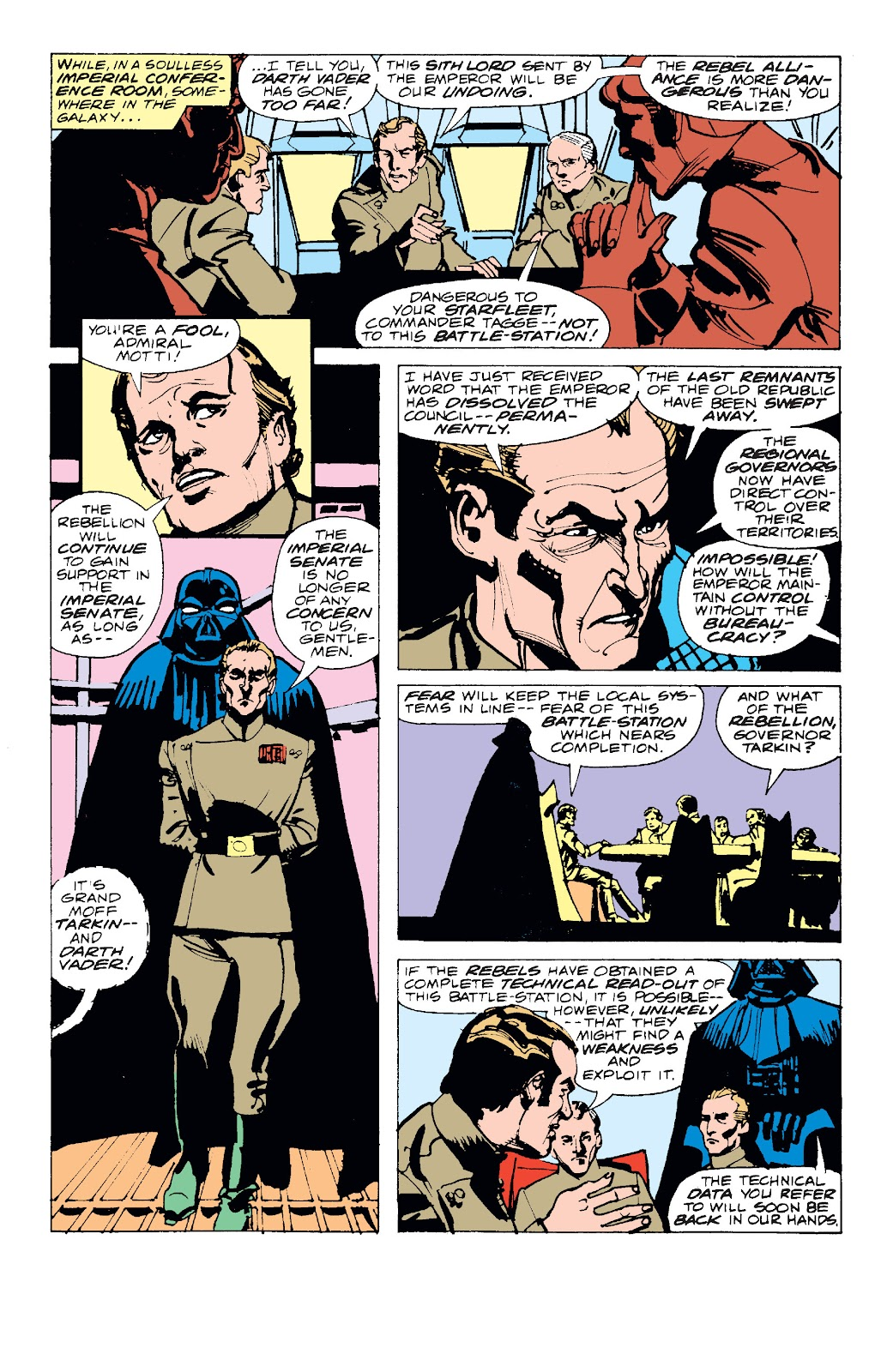 Read online Star Wars Legends: The Original Marvel Years - Epic Collection comic -  Issue # TPB 1 (Part 1) - 13