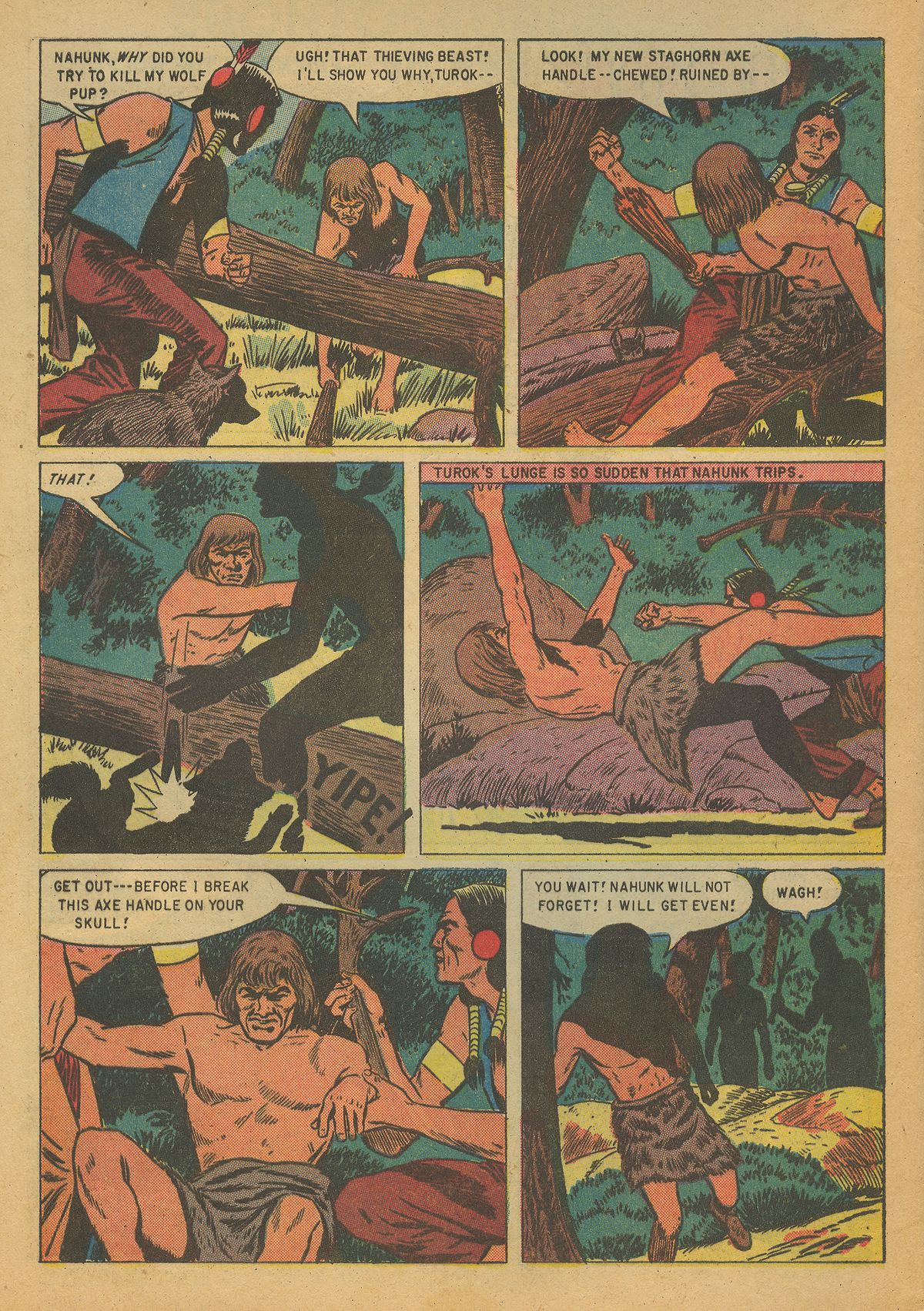 Read online Turok, Son of Stone comic -  Issue #7 - 4
