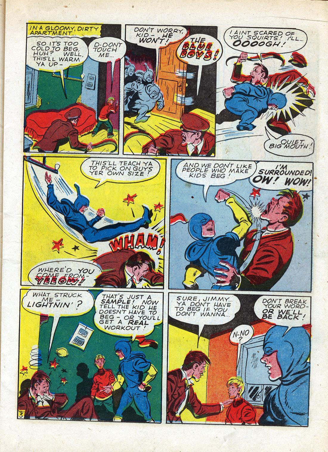 Read online Sensation (Mystery) Comics comic -  Issue #26 - 27