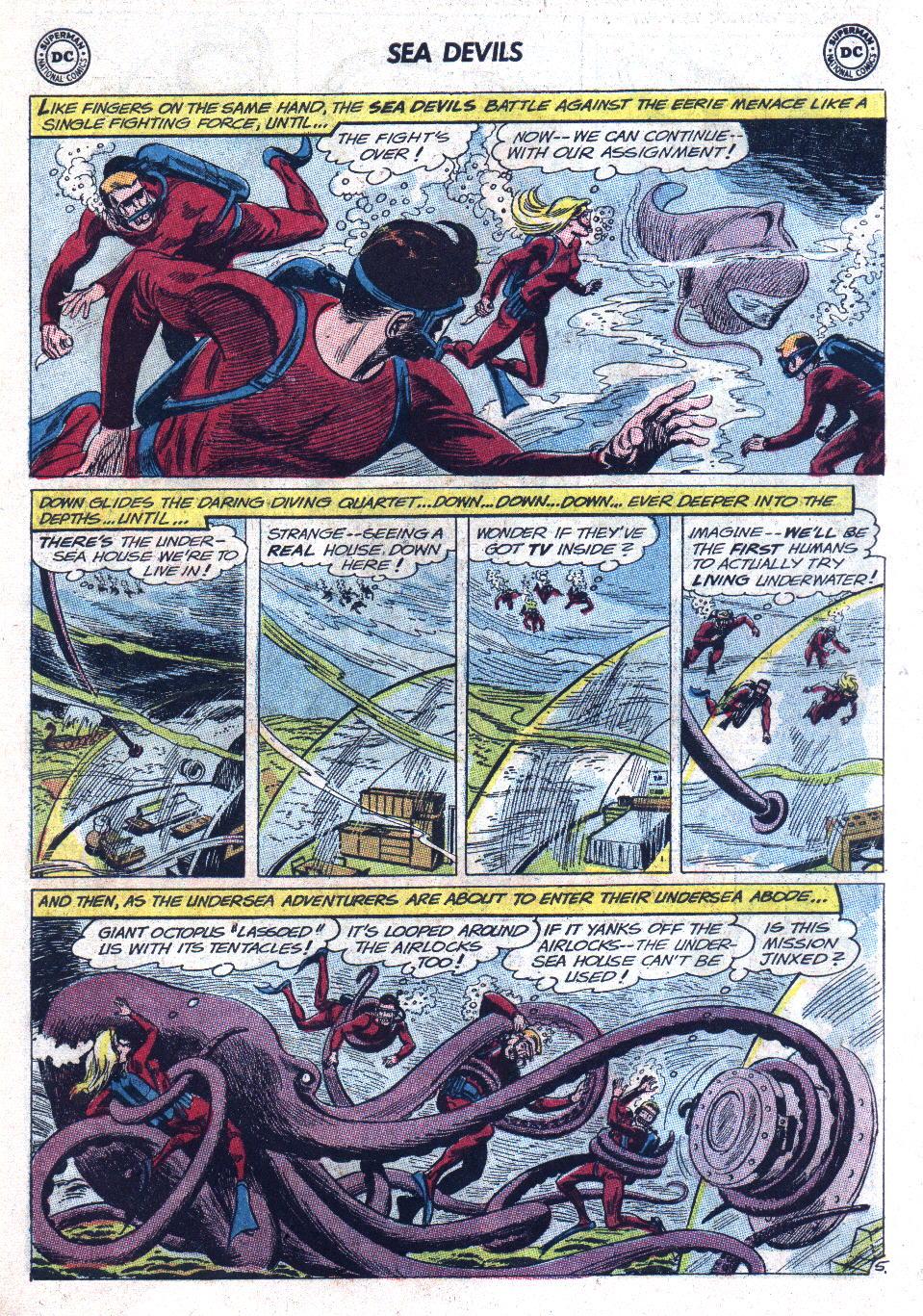 Read online Sea Devils comic -  Issue #11 - 7