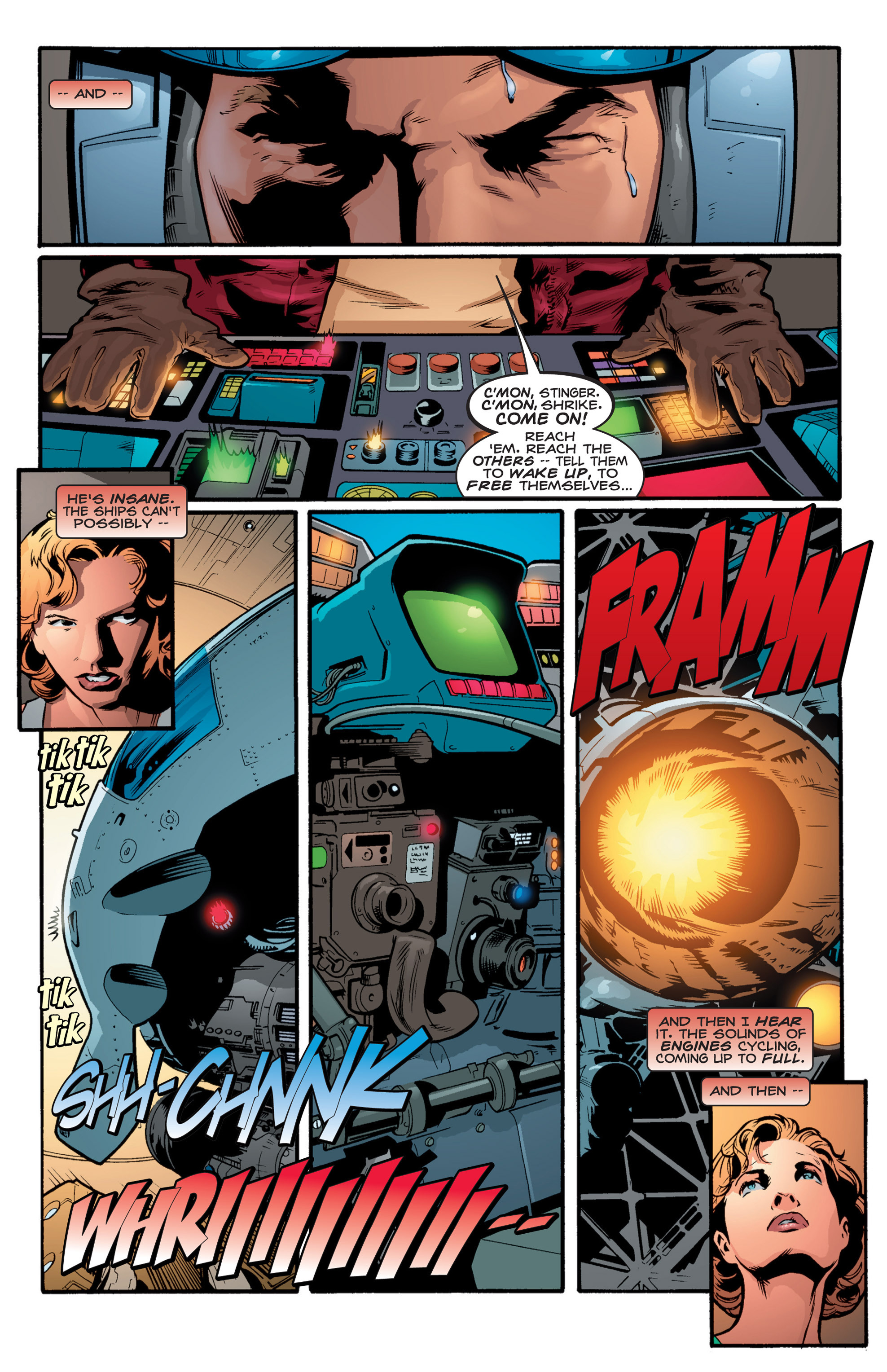 Read online Shockrockets comic -  Issue # TPB - 122
