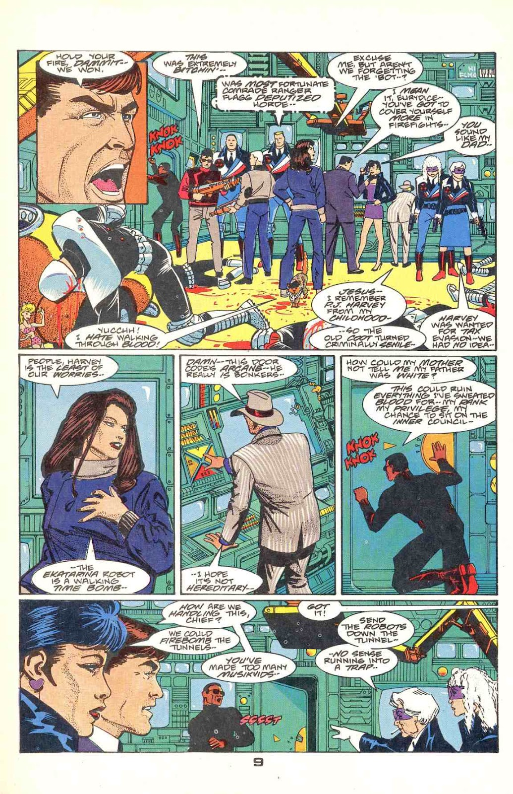 Howard Chaykin's American Flagg issue 12 - Page 11