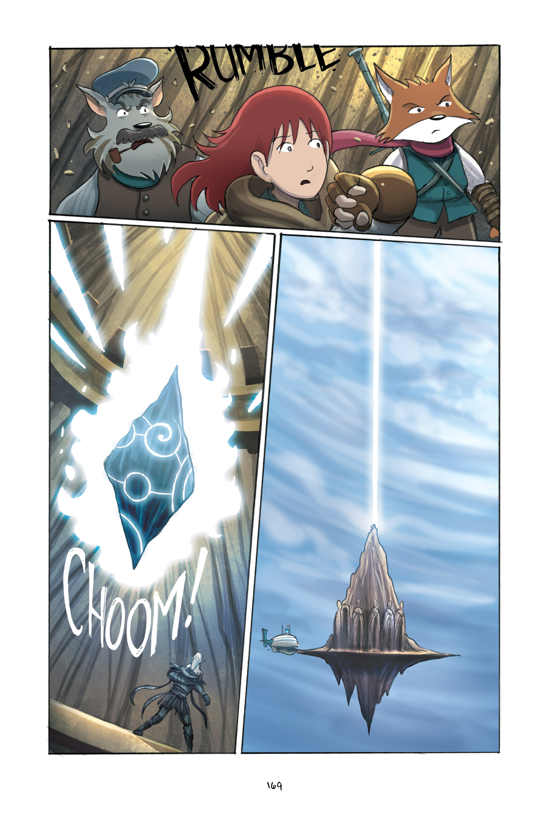 Read online Amulet comic -  Issue #3 - 165