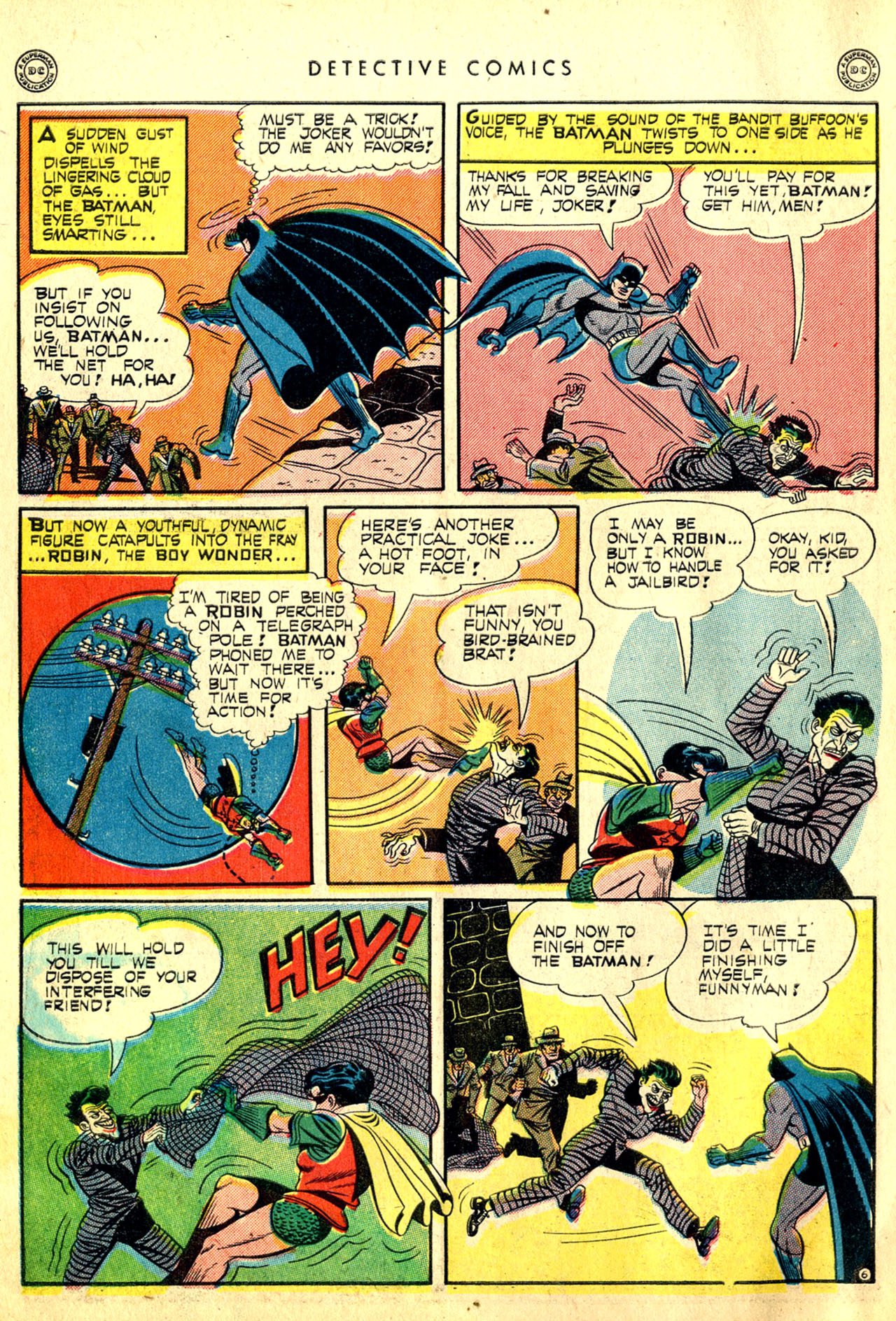 Read online Detective Comics (1937) comic -  Issue #91 - 8