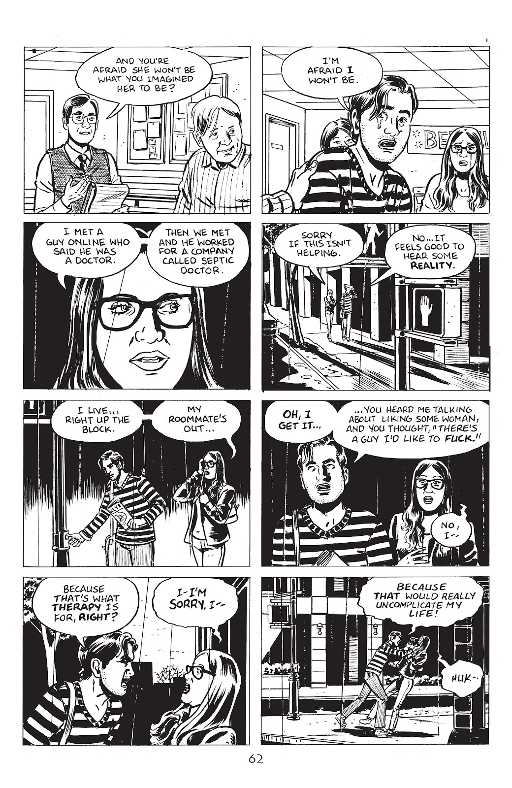 Read online Lodger comic -  Issue #4 - 4