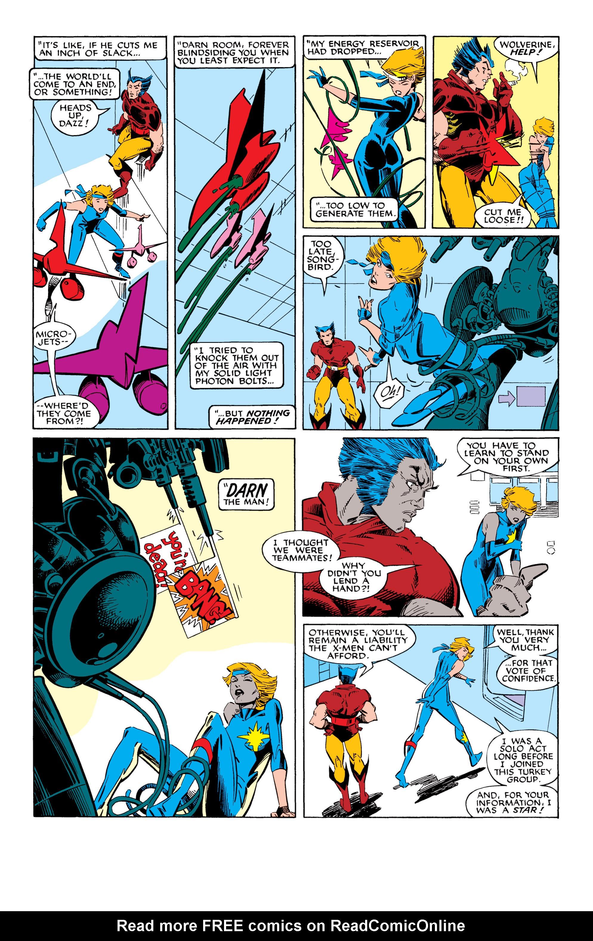 Read online Uncanny X-Men (1963) comic -  Issue #228 - 5
