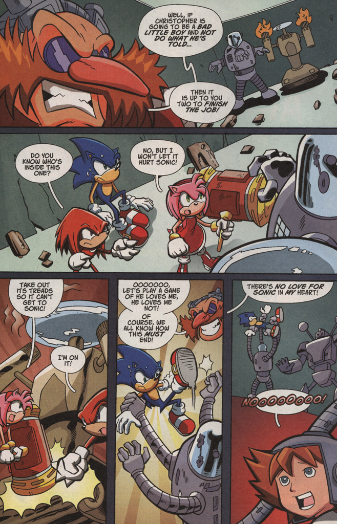 Read online Sonic X comic -  Issue #4 - 26