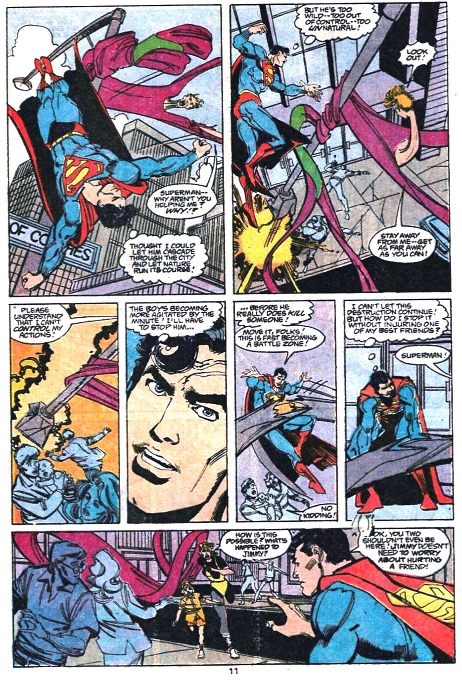 Read online Adventures of Superman (1987) comic -  Issue #458 - 12