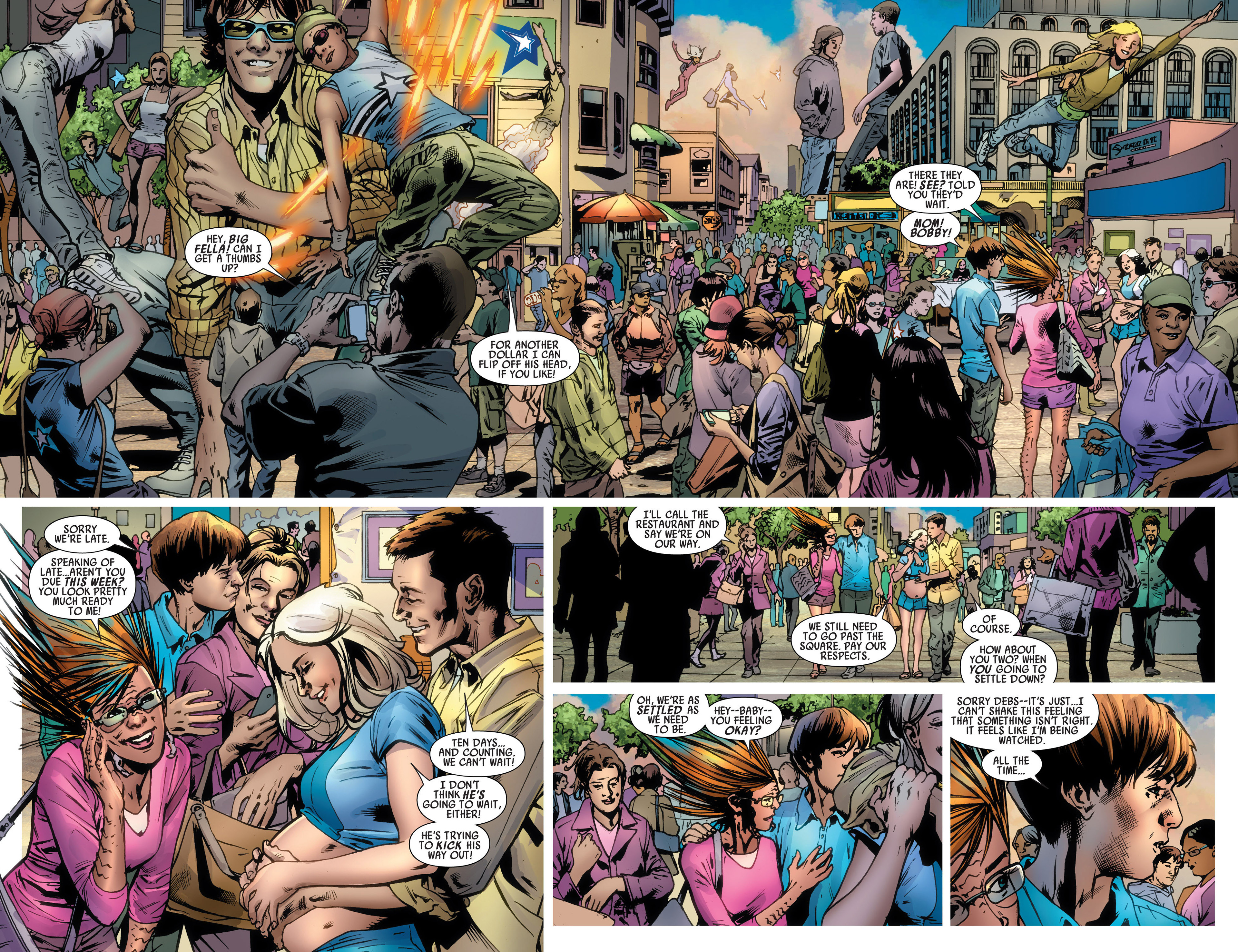 Read online America's Got Powers comic -  Issue #6 - 4