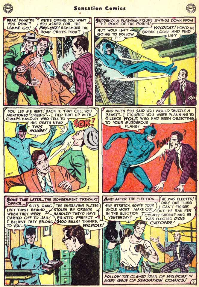Read online Sensation (Mystery) Comics comic -  Issue #90 - 23