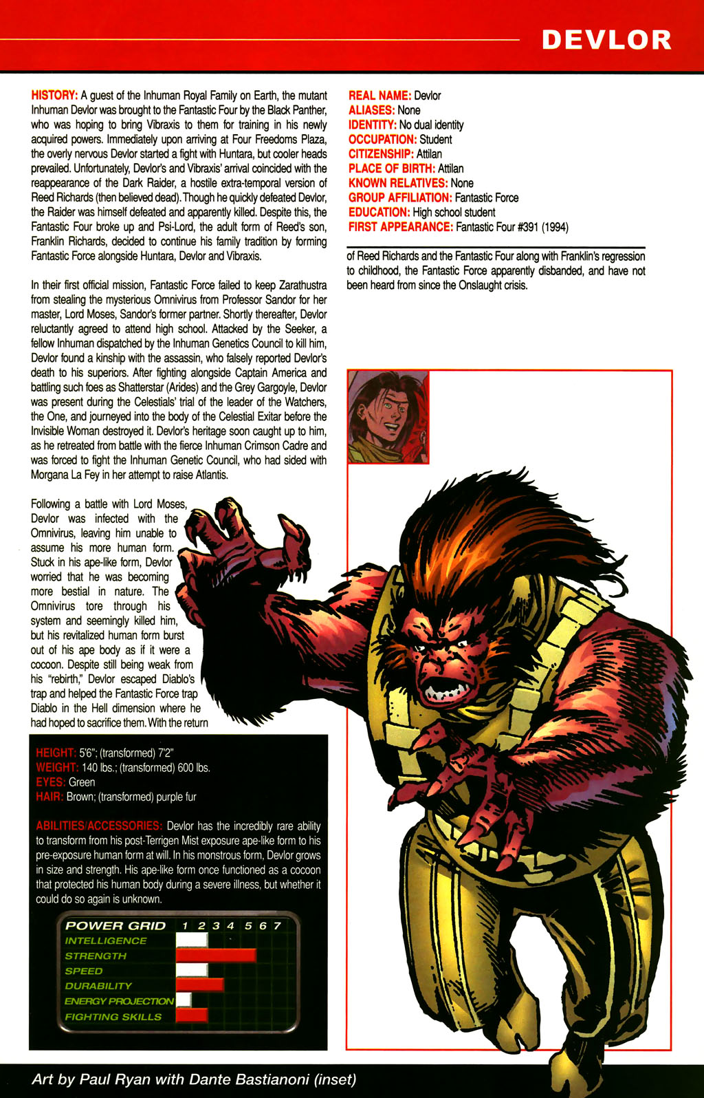 Read online All-New Official Handbook of the Marvel Universe A to Z comic -  Issue #3 - 49