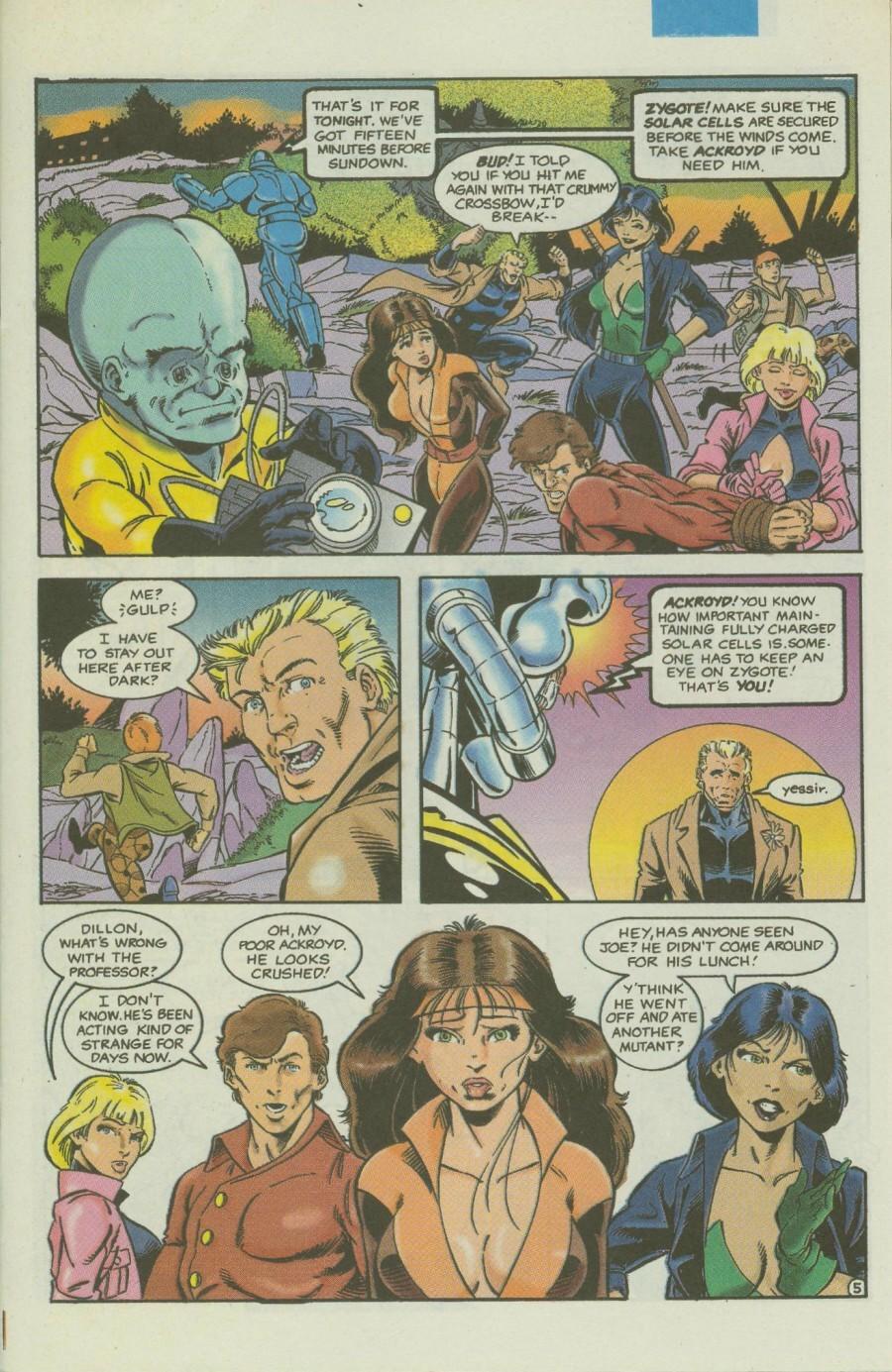 Read online Ex-Mutants comic -  Issue #4 - 6