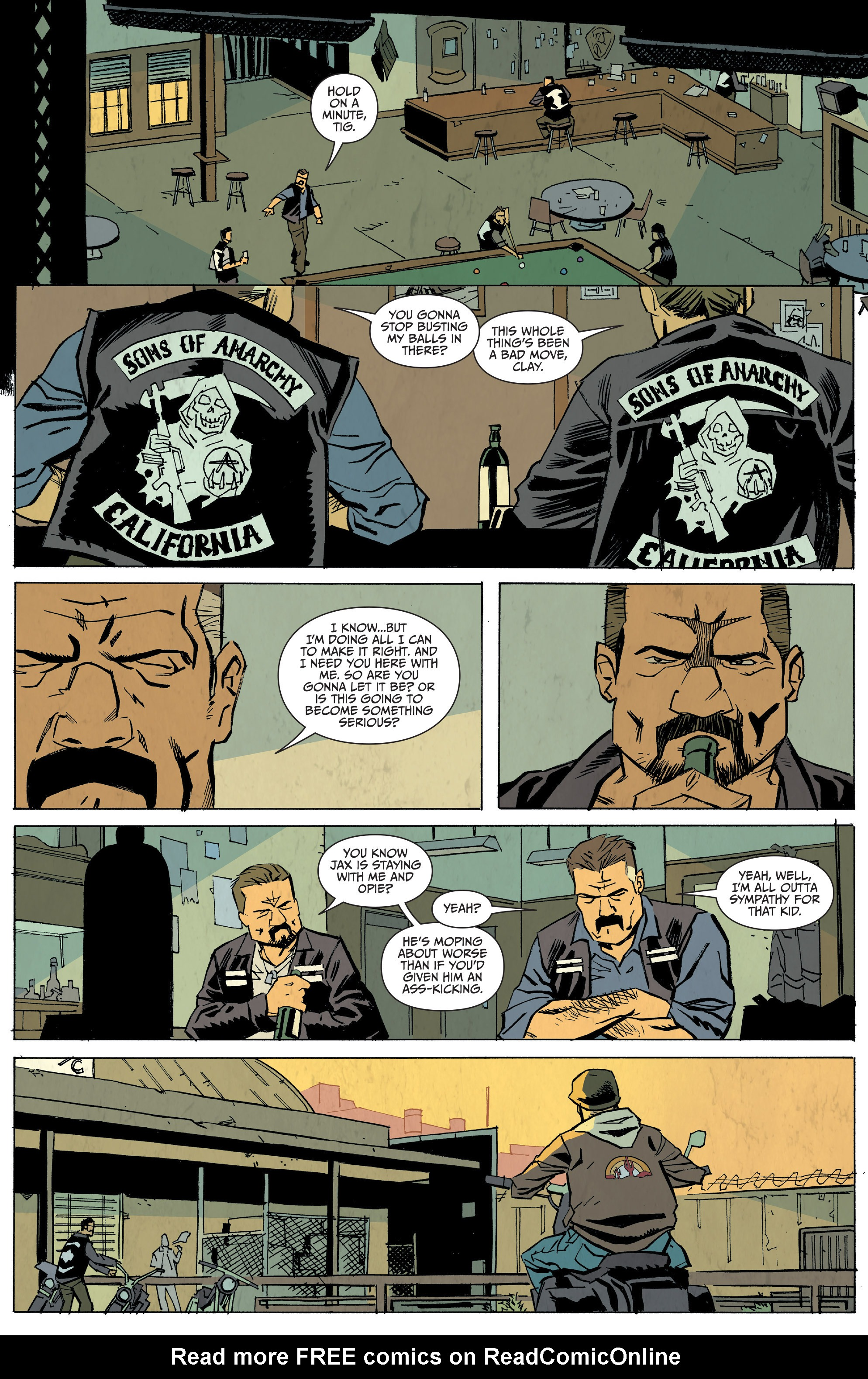 Read online Sons of Anarchy: Redwood Original comic -  Issue #5 - 12