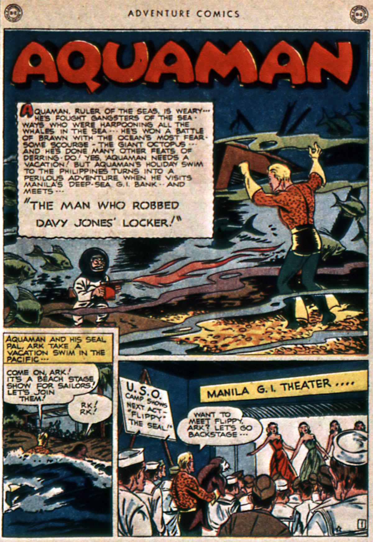 Read online Adventure Comics (1938) comic -  Issue #111 - 43