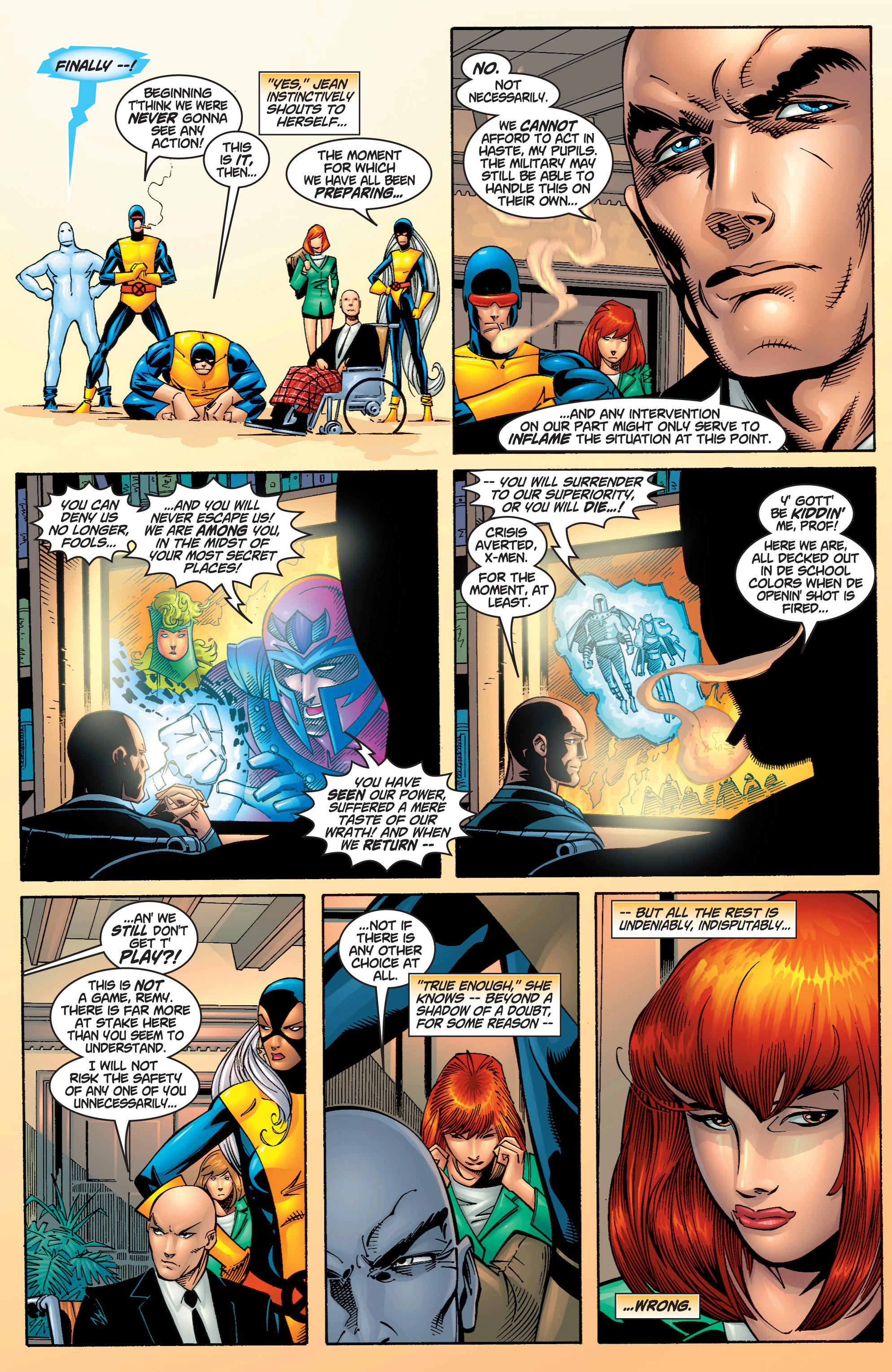 Read online Uncanny X-Men (1963) comic -  Issue #378 - 7