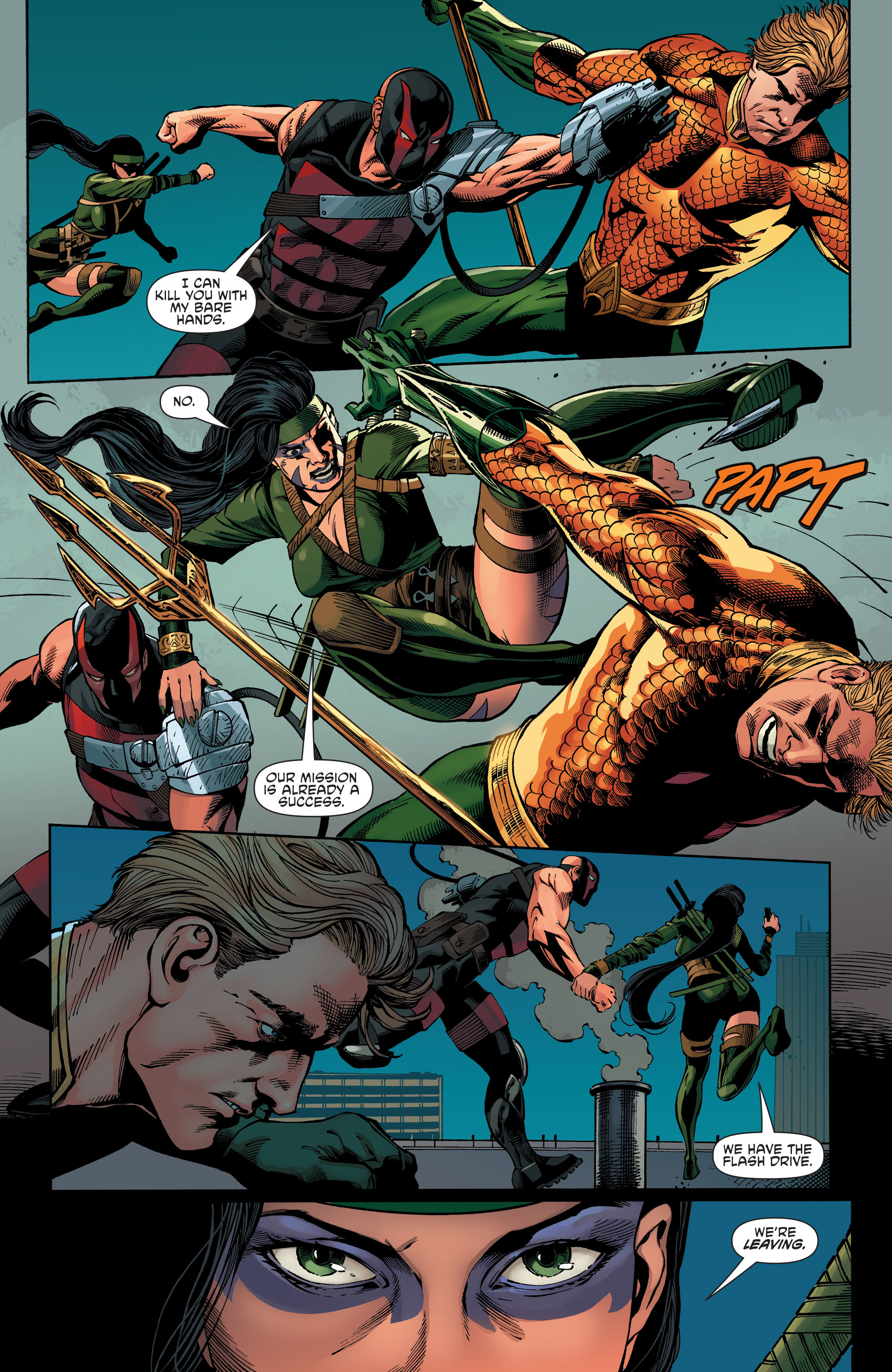 Read online Aquaman and the Others comic -  Issue #7 - 9