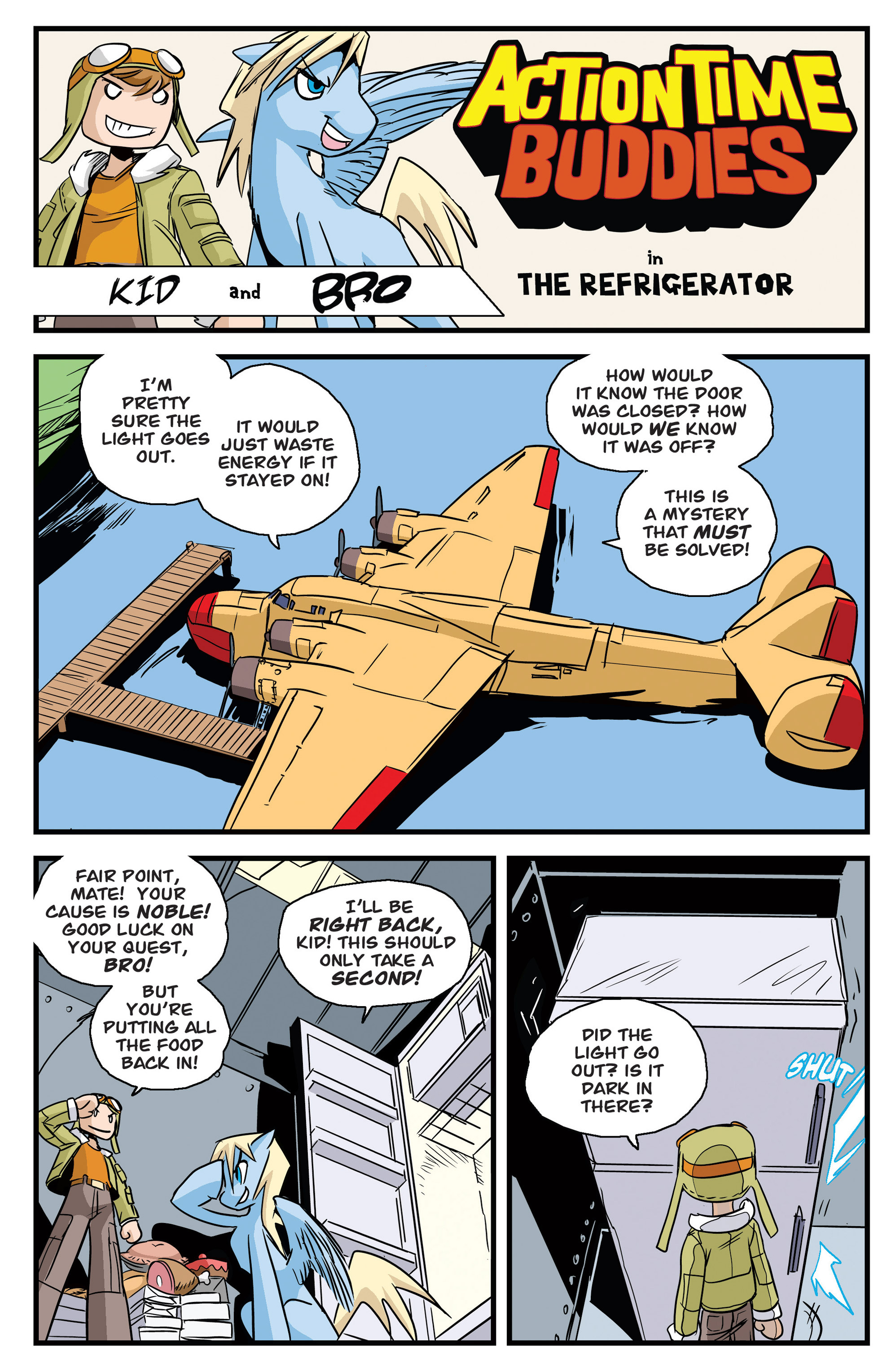 Read online Action Time Buddies comic -  Issue #Action Time Buddies Full - 3