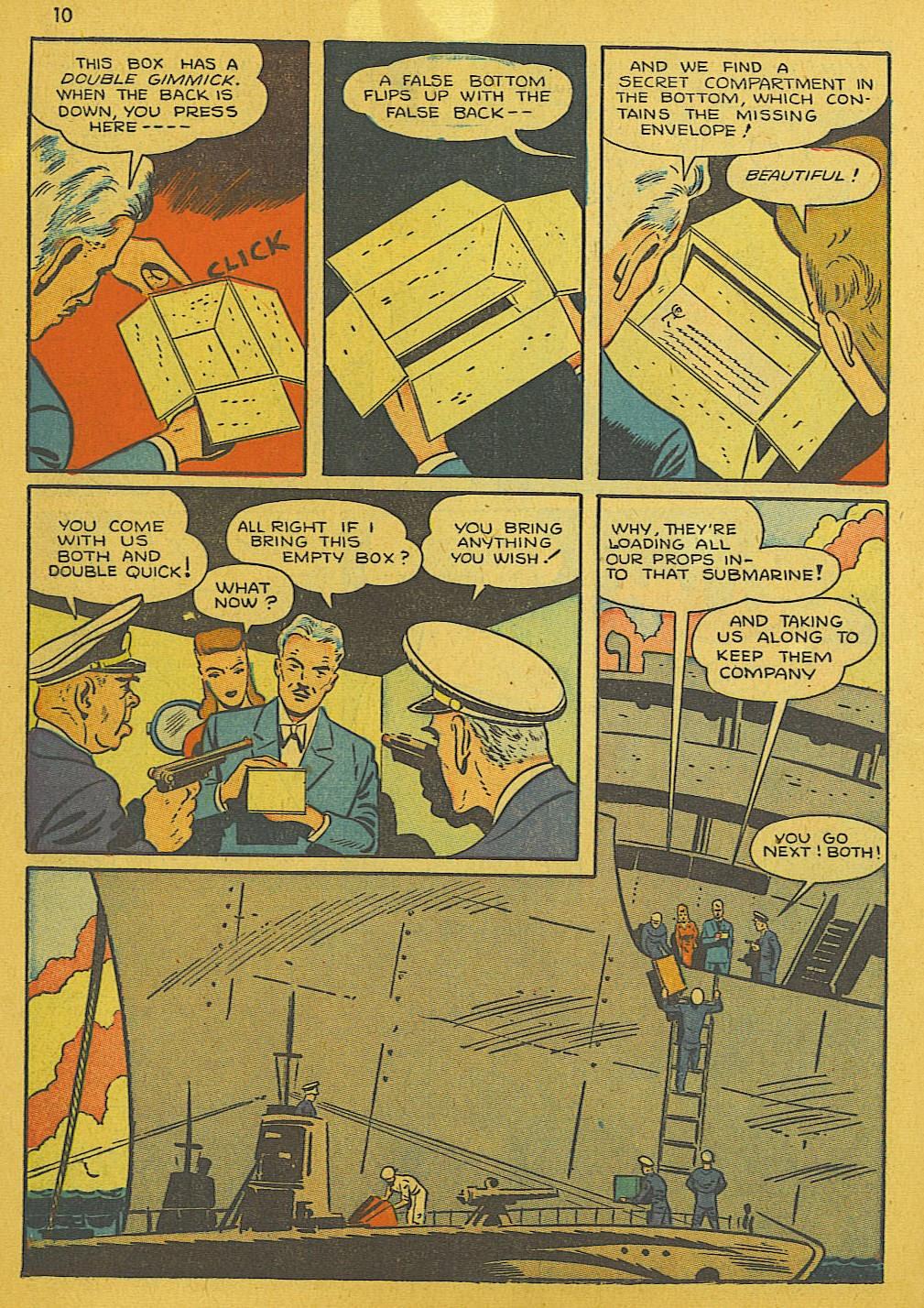 Read online Super-Magician Comics comic -  Issue #10 - 10