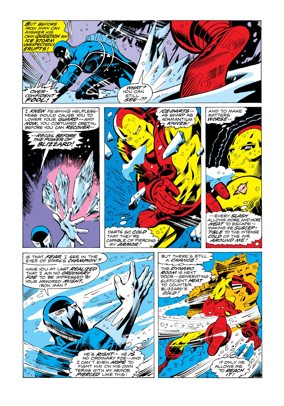 Read online Marvel Masterworks: The Invincible Iron Man comic -  Issue # TPB 11 (Part 1) - 97