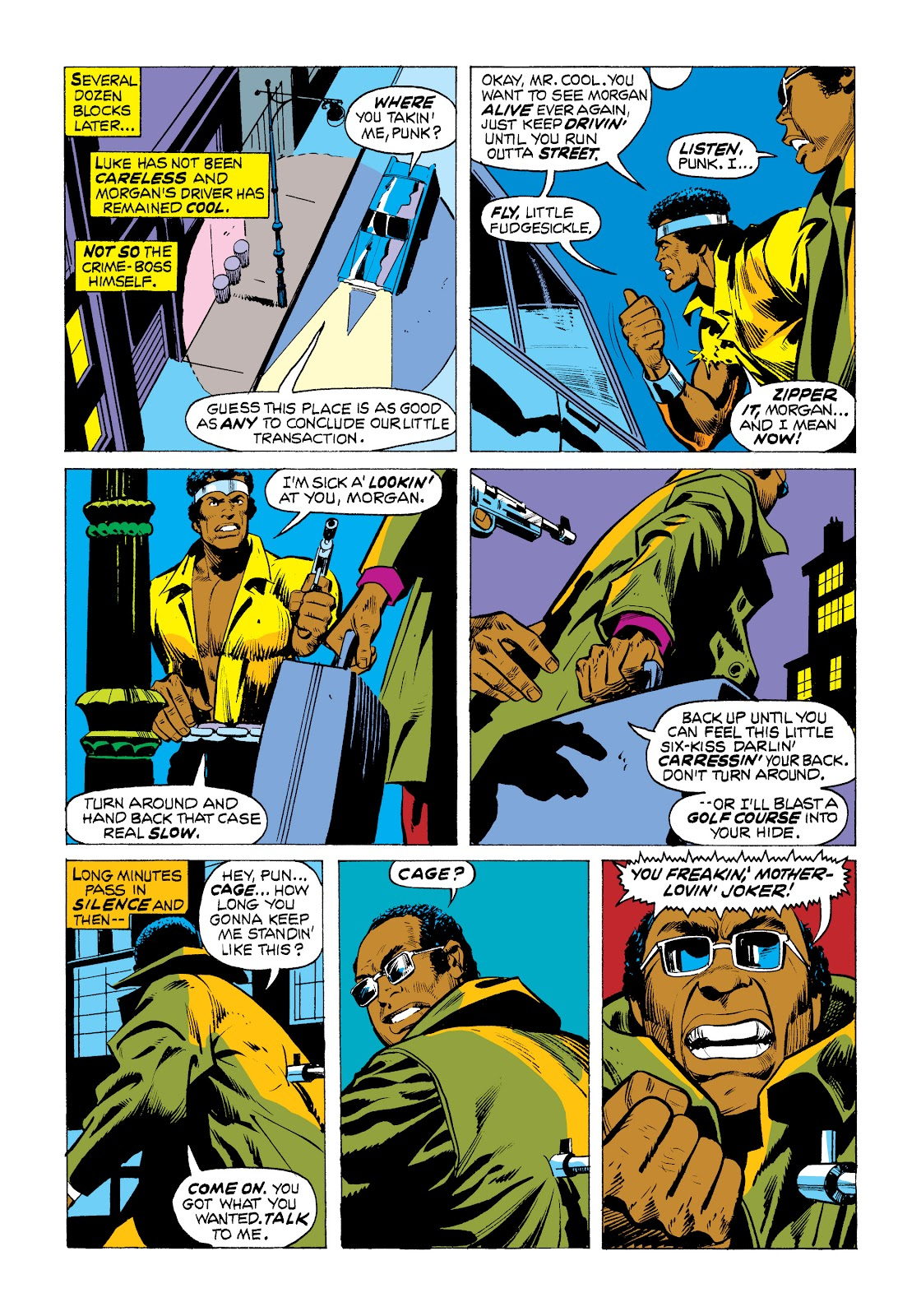 Read online Marvel Masterworks: Luke Cage, Power Man comic -  Issue # TPB 2 (Part 1) - 76