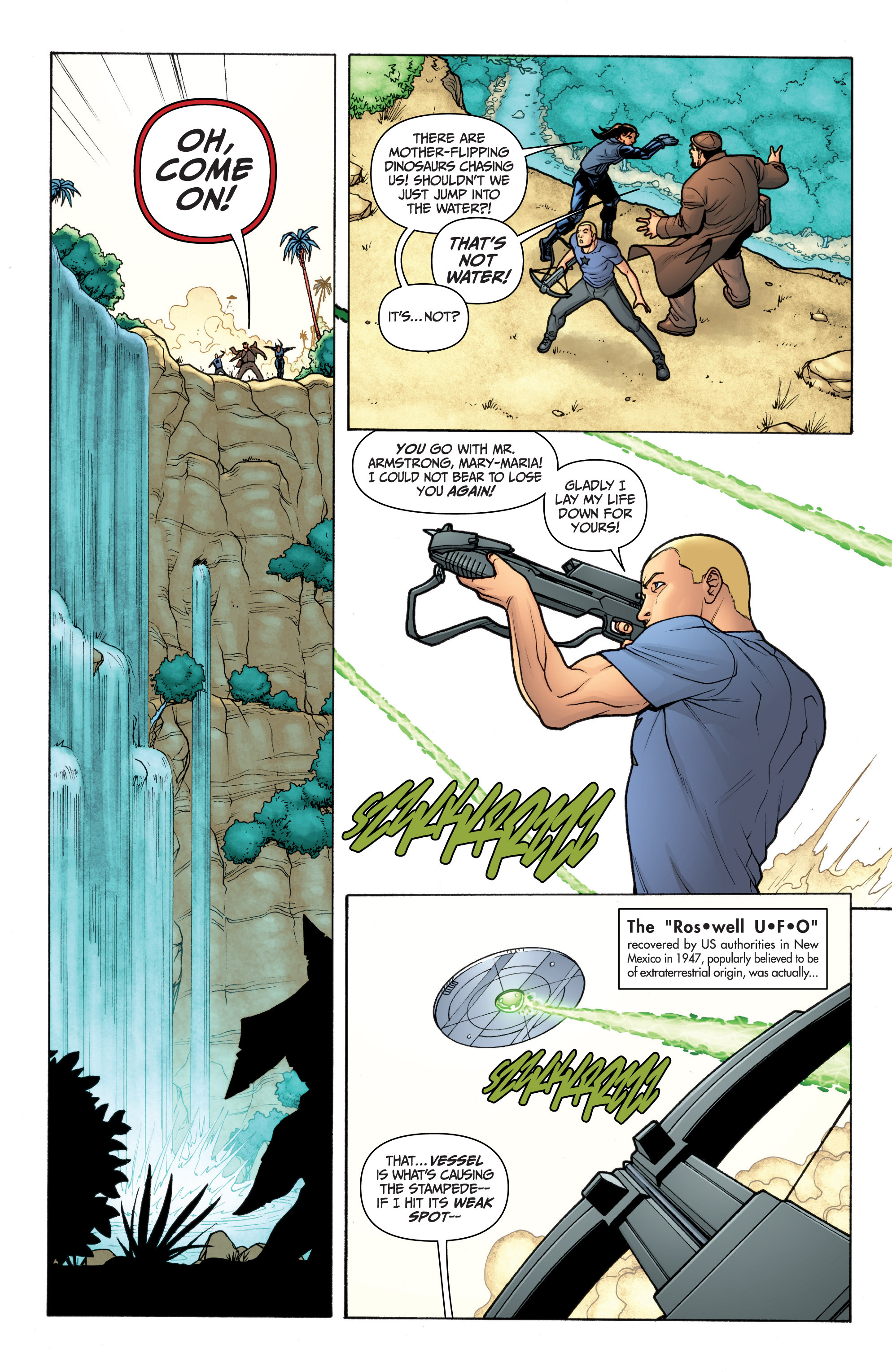 Read online Archer and Armstrong comic -  Issue #11 - 5
