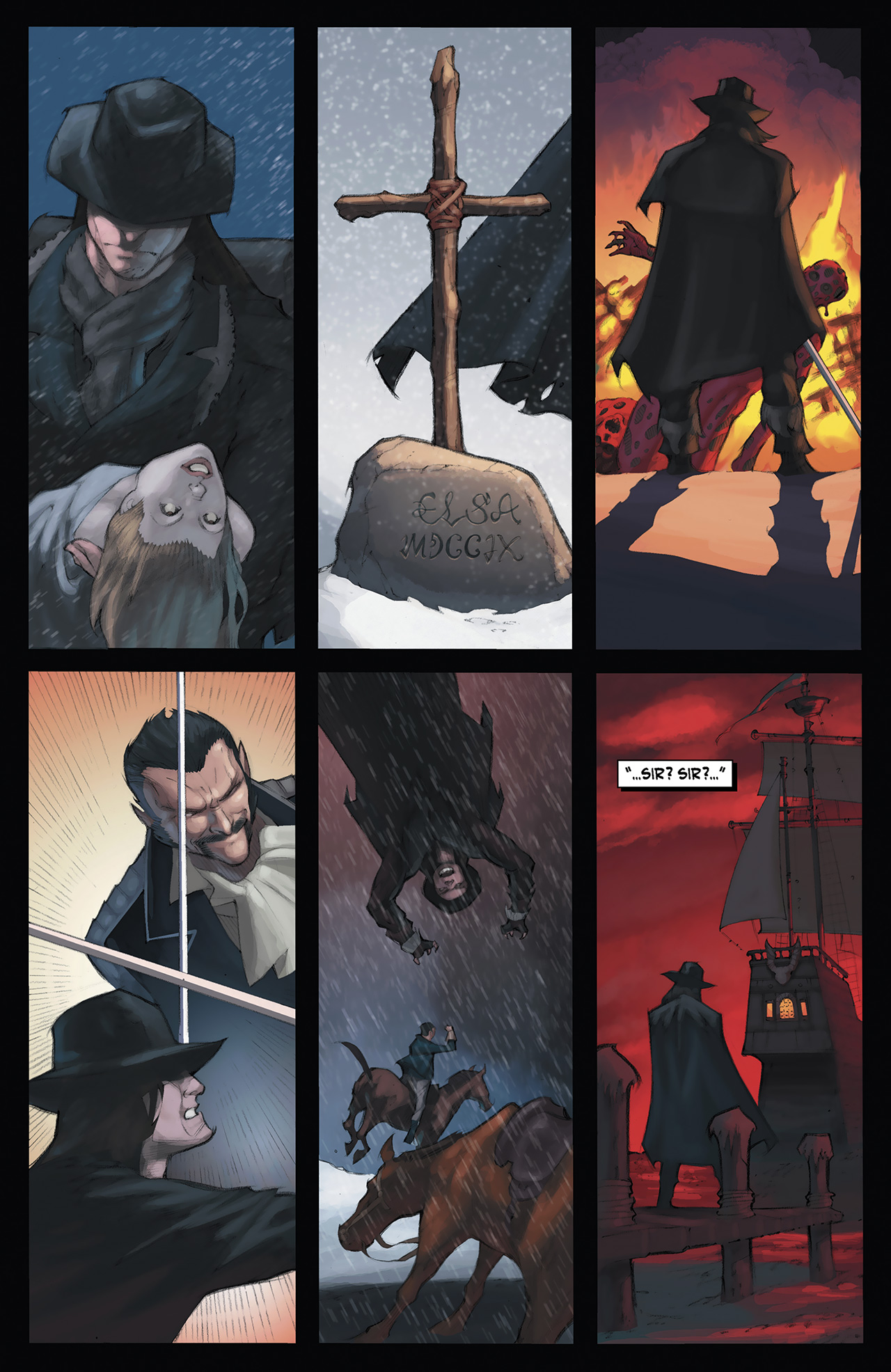 Read online Solomon Kane: Red Shadows comic -  Issue #3 - 6