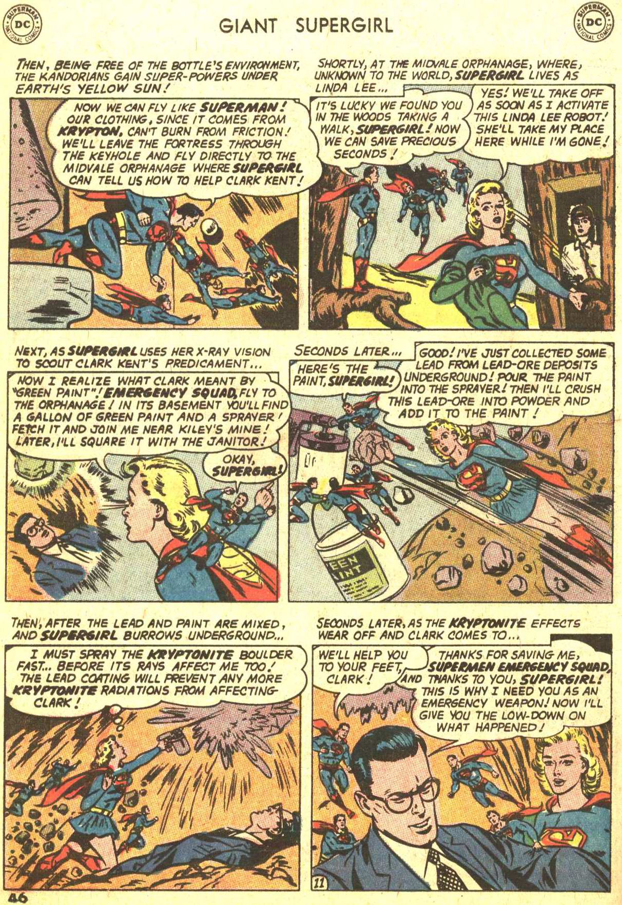 Read online Action Comics (1938) comic -  Issue #373 - 44