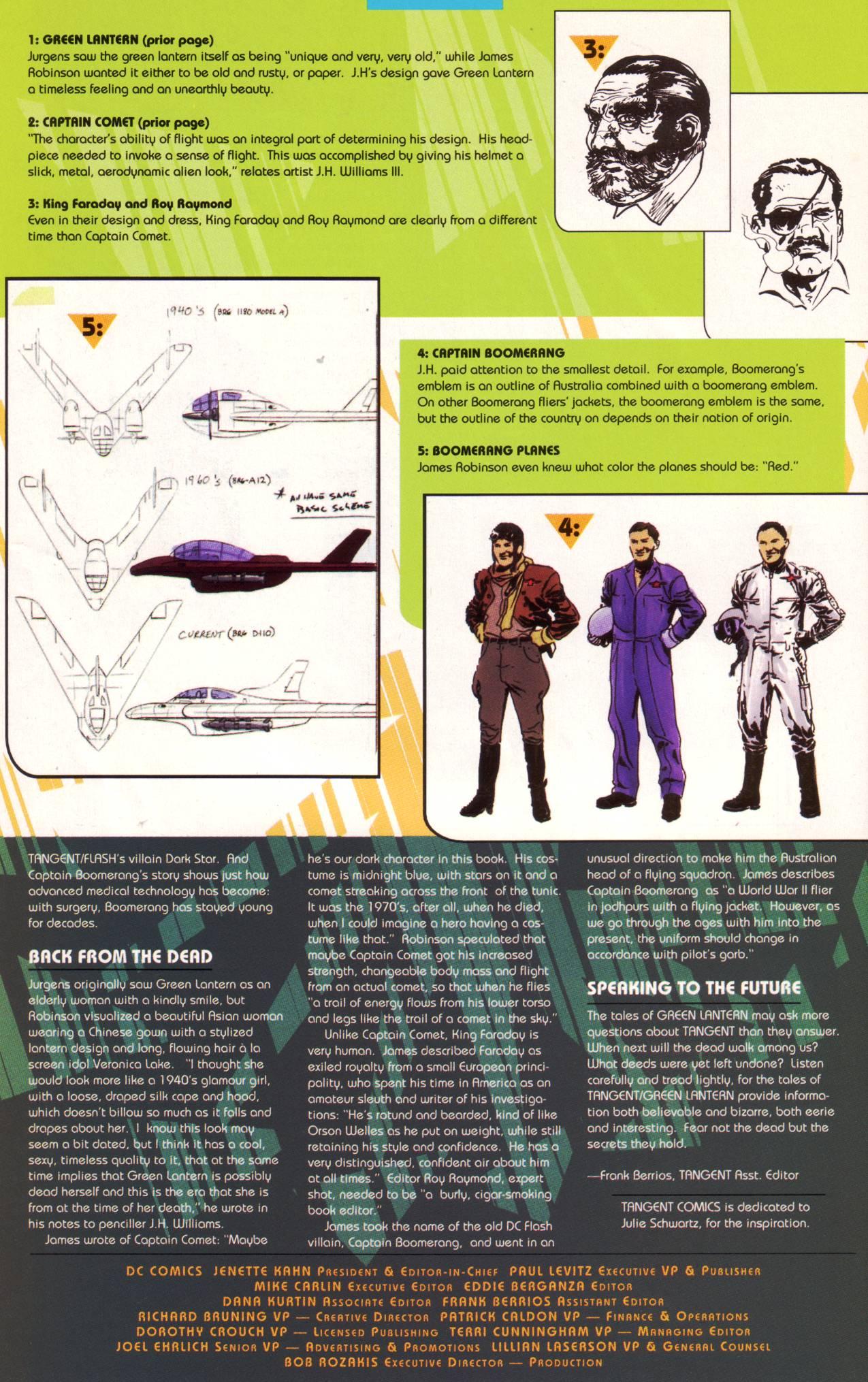 Read online Tangent Comics/ Green Lantern comic -  Issue # Full - 41