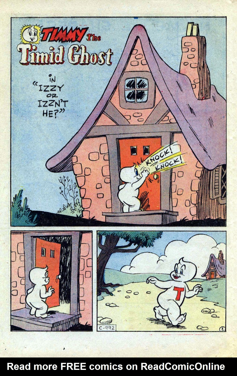 Read online Timmy the Timid Ghost comic -  Issue #17 - 16