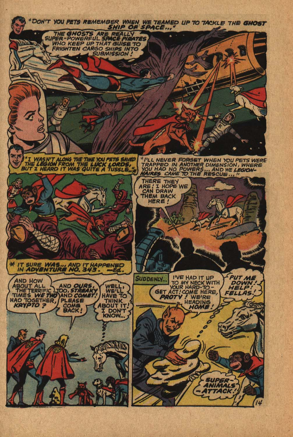 Read online Adventure Comics (1938) comic -  Issue #364 - 21