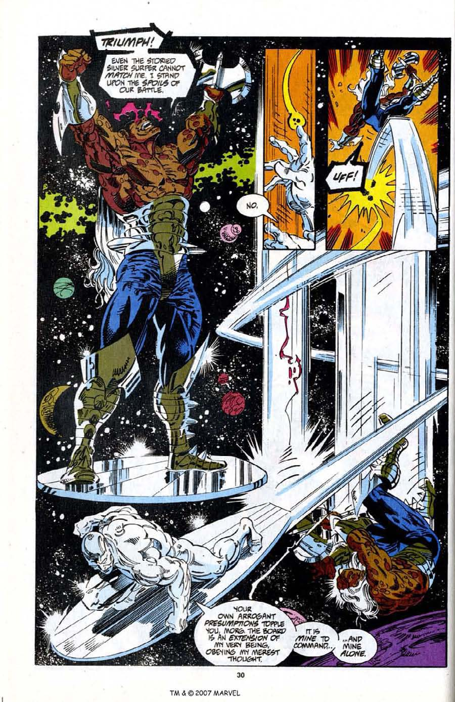 Read online Silver Surfer (1987) comic -  Issue # _Annual 7 - 32