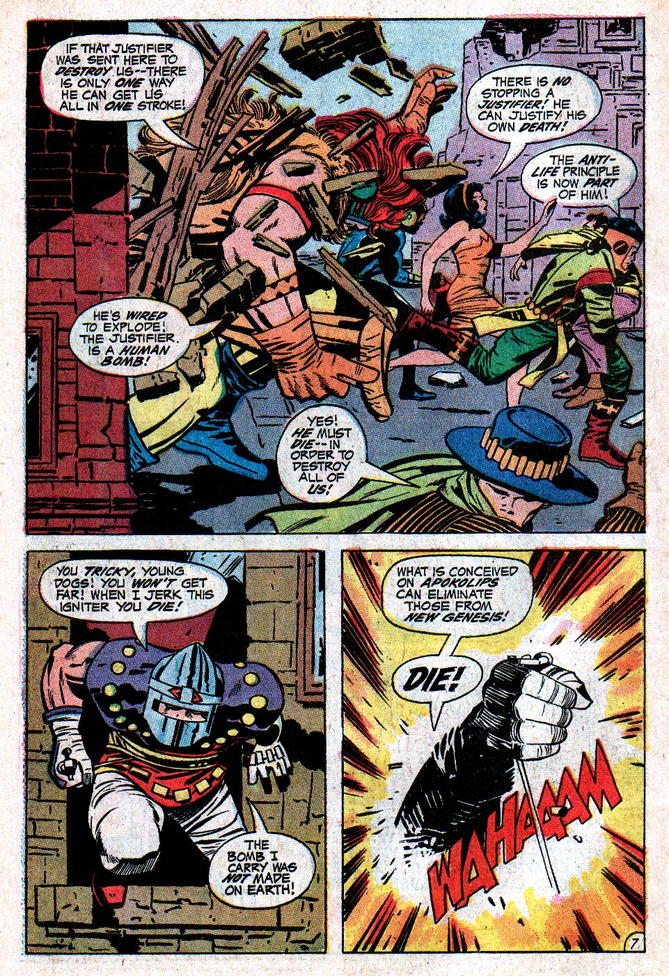 Forever People (1971) issue 3 - Page 9