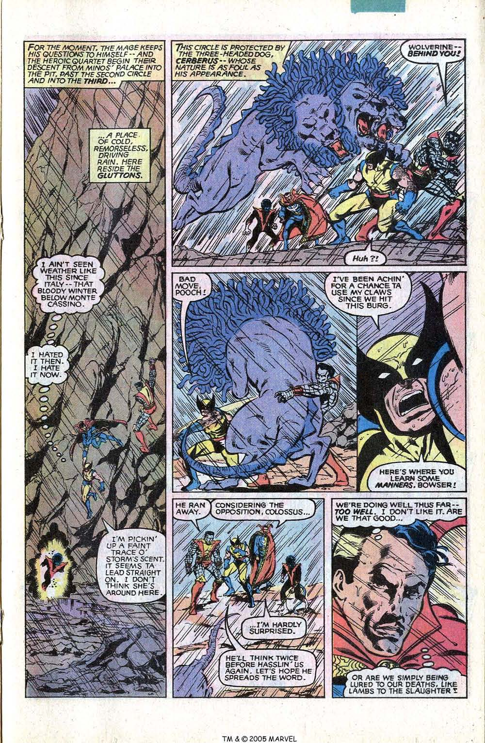 Read online Uncanny X-Men (1963) comic -  Issue # _Annual 4 - 29