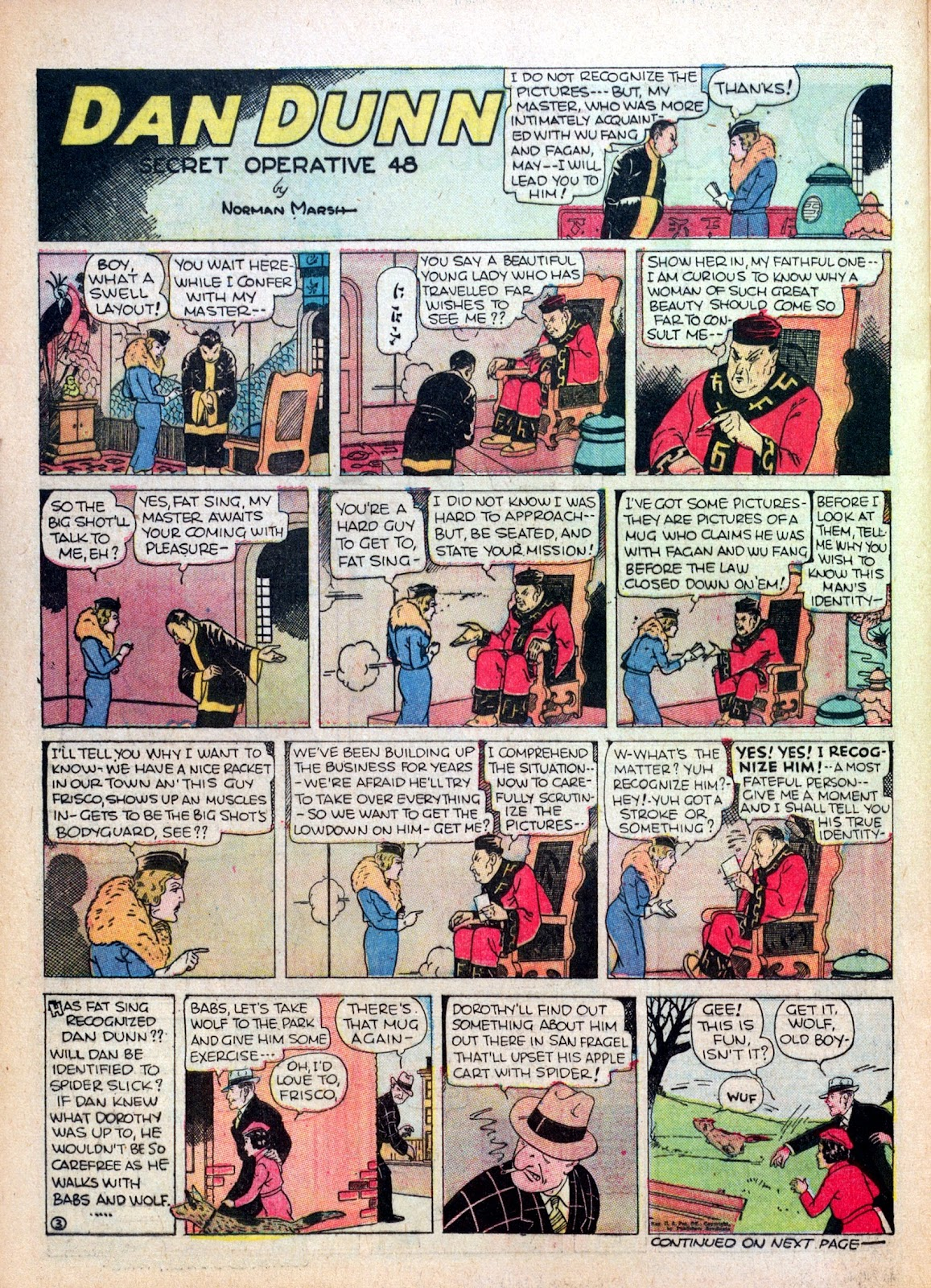 Read online Famous Funnies comic -  Issue #17 - 45