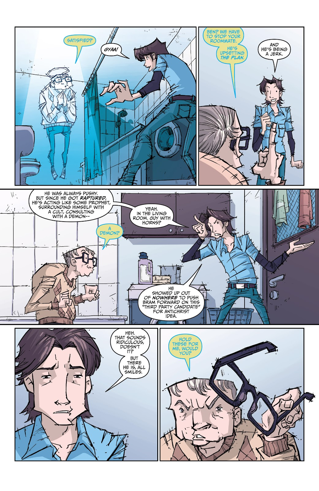 Read online The End Times of Bram and Ben comic -  Issue #2 - 13