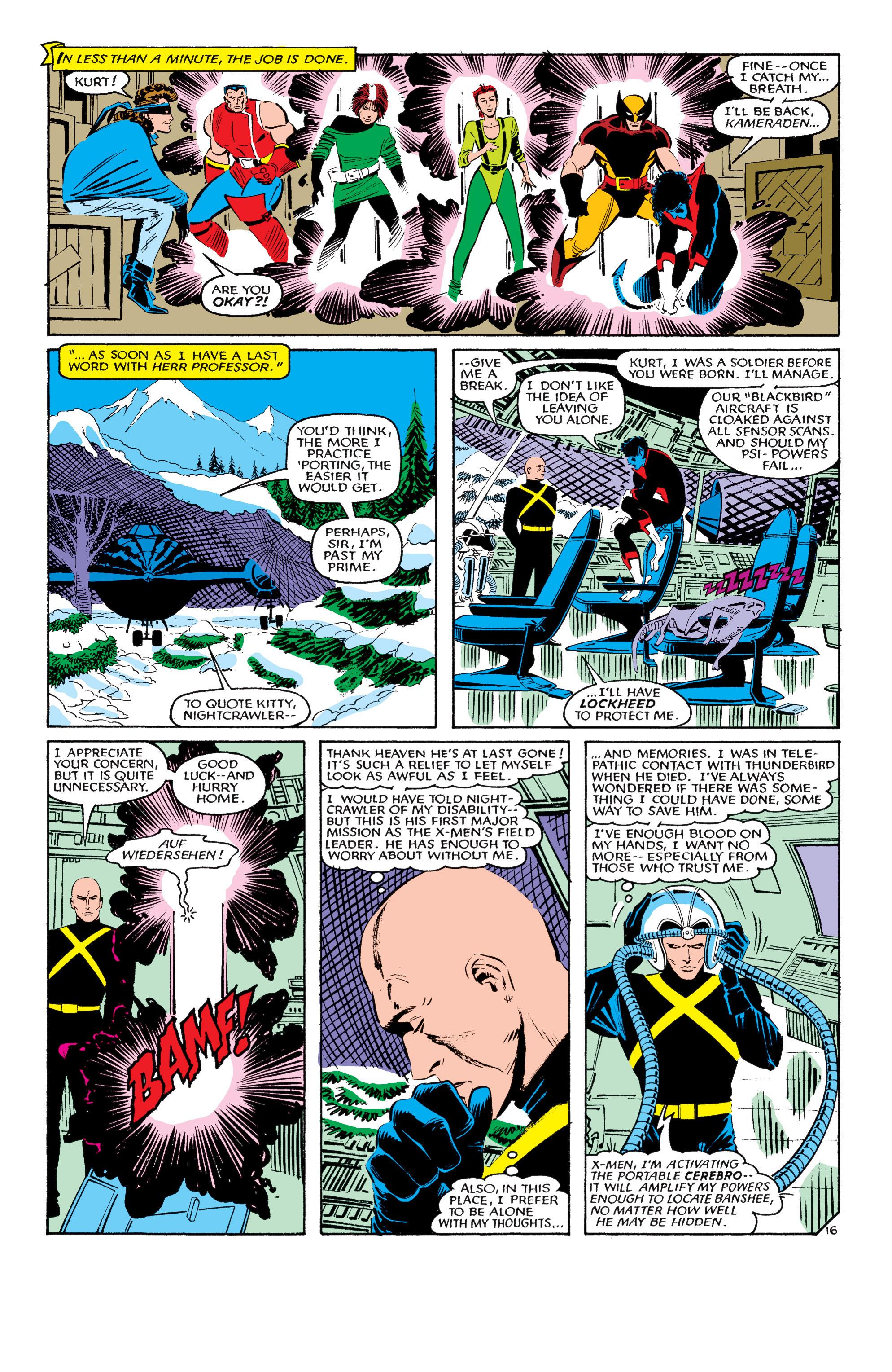 Read online Uncanny X-Men (1963) comic -  Issue #193 - 17