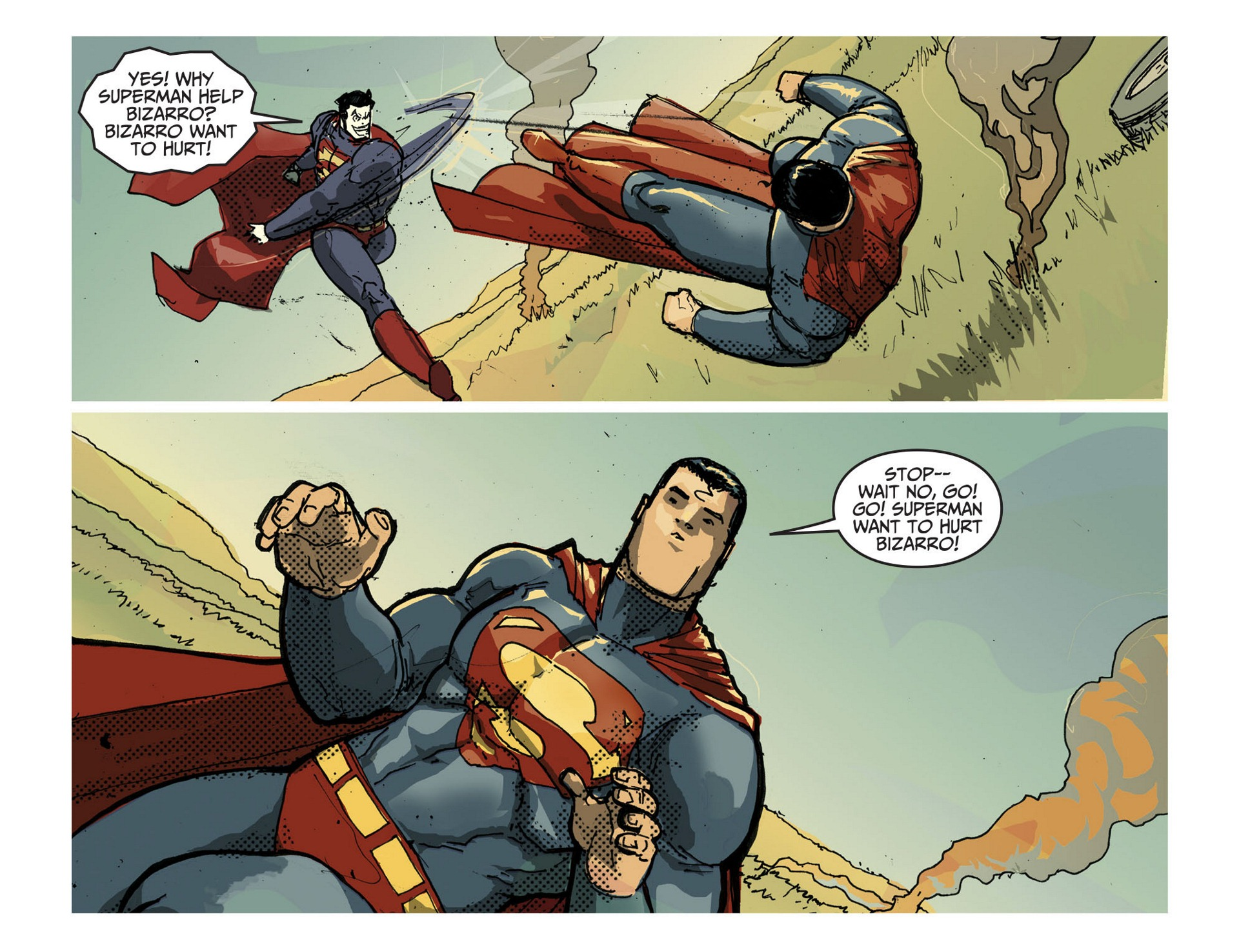 Read online Adventures of Superman [I] comic -  Issue #3 - 18