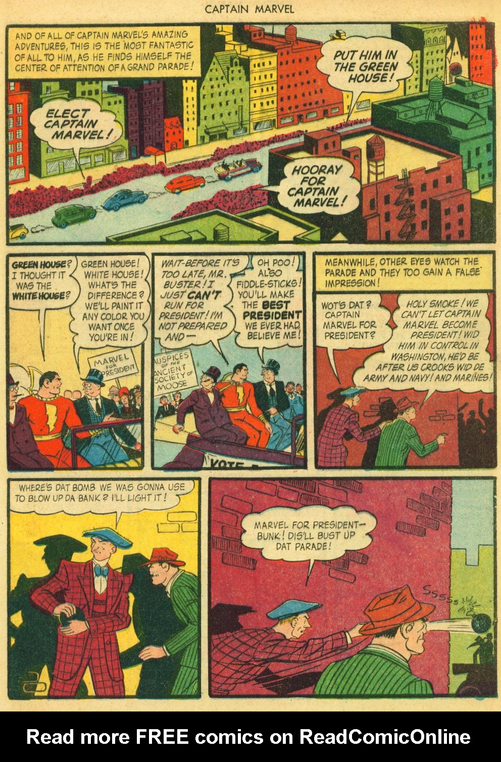 Captain Marvel Adventures issue 41 - Page 33