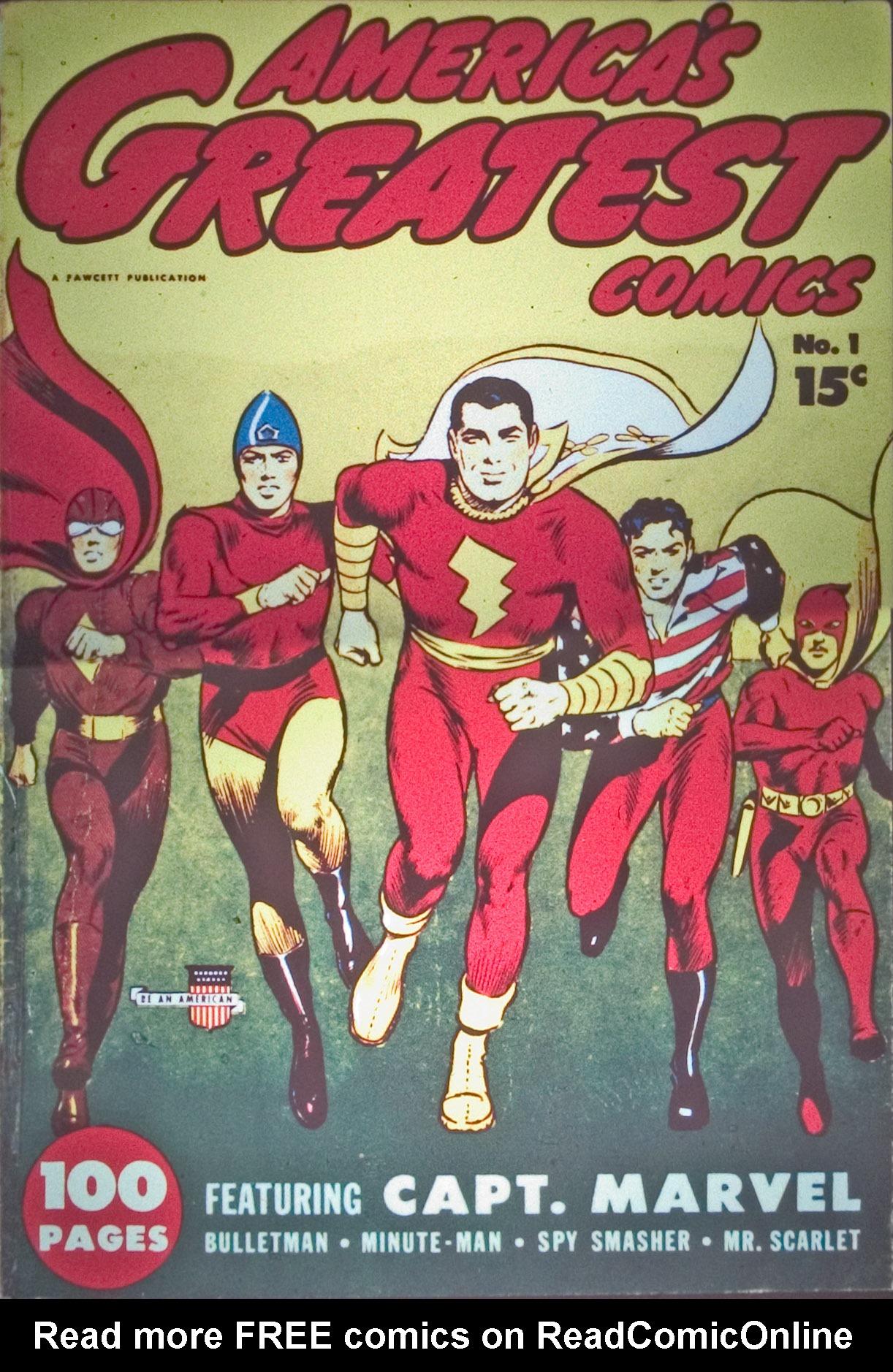 Read online America's Greatest Comics comic -  Issue #1 - 2