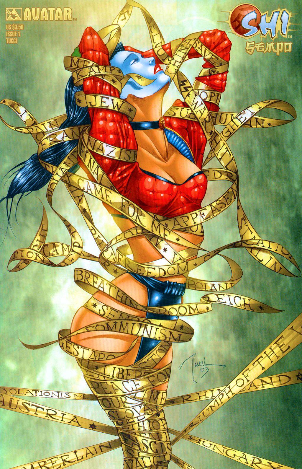 Read online Shi: Sempo comic -  Issue #1 - 1