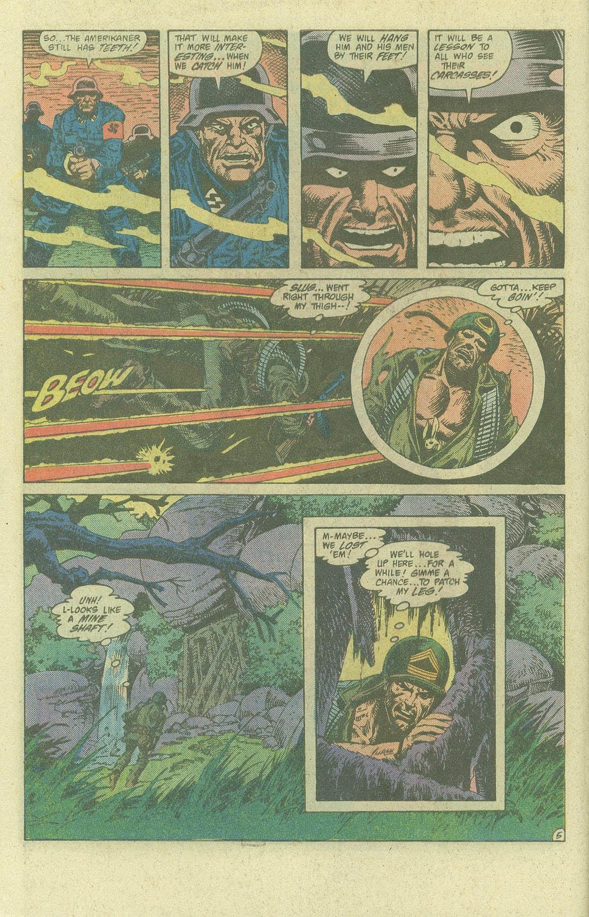 Read online Sgt. Rock comic -  Issue #400 - 7