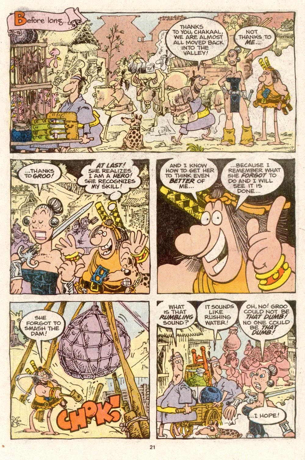 Read online Sergio Aragonés Groo the Wanderer comic -  Issue #51 - 22